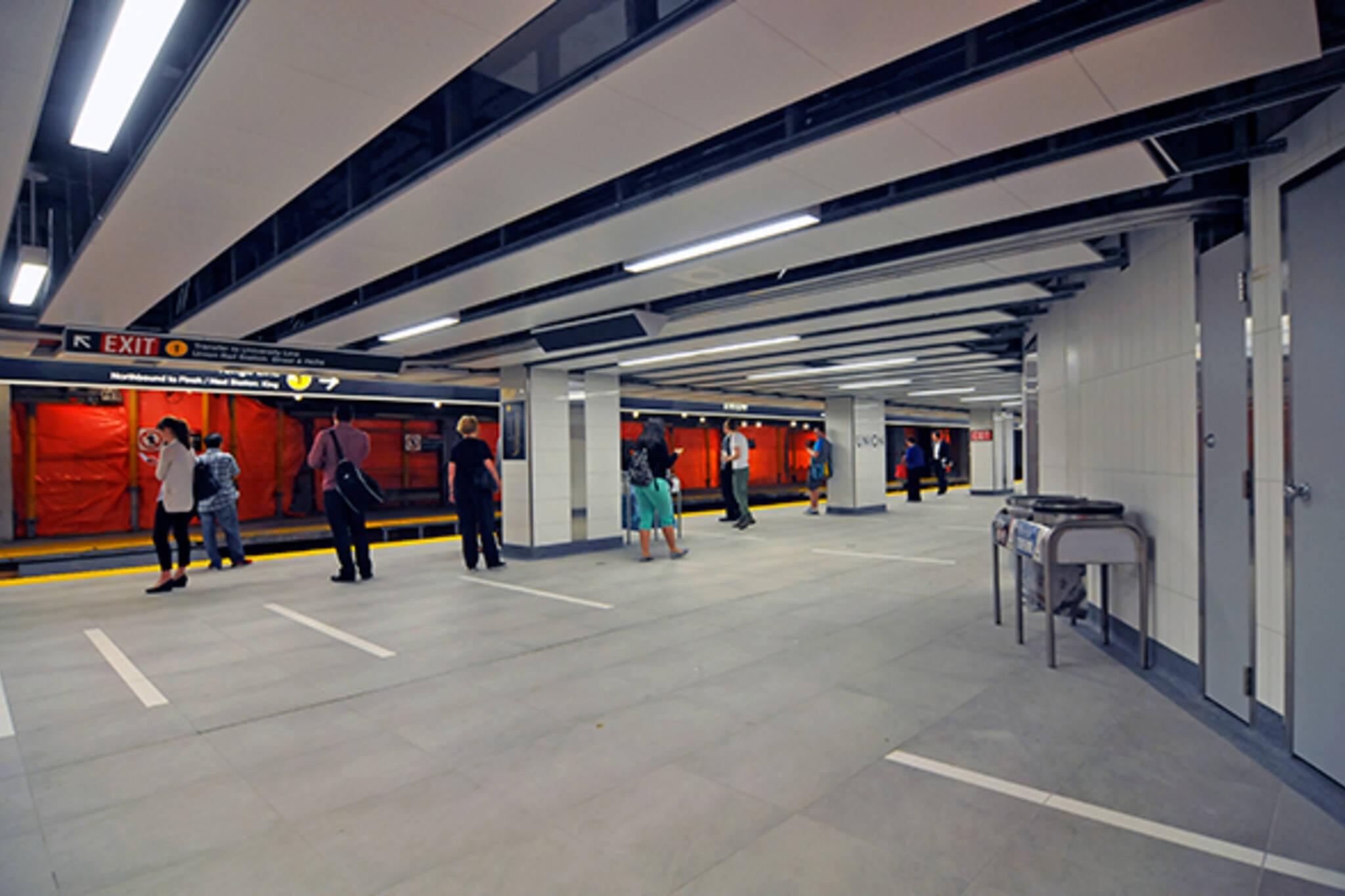 Union Station second platform