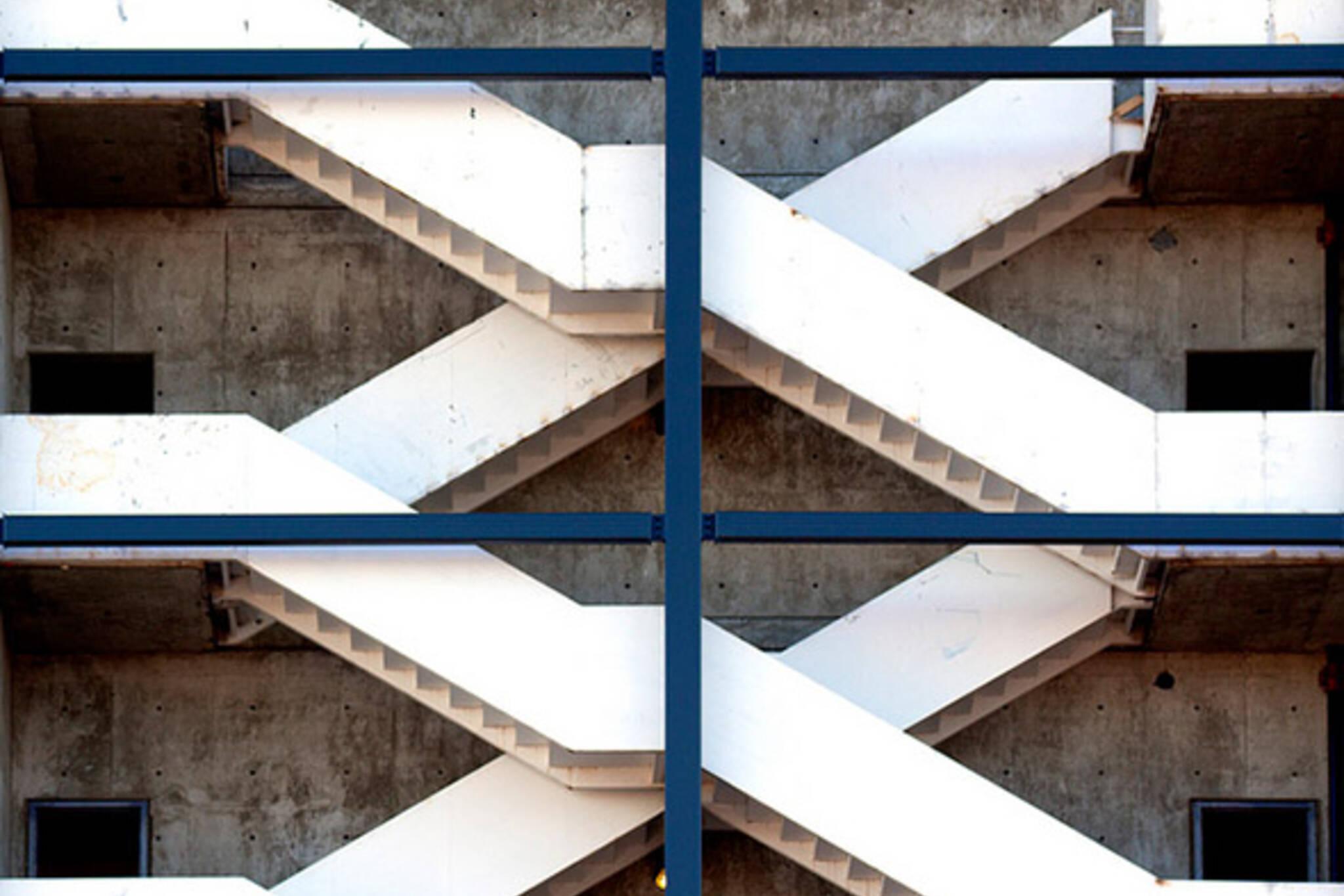 x, toronto, stairs