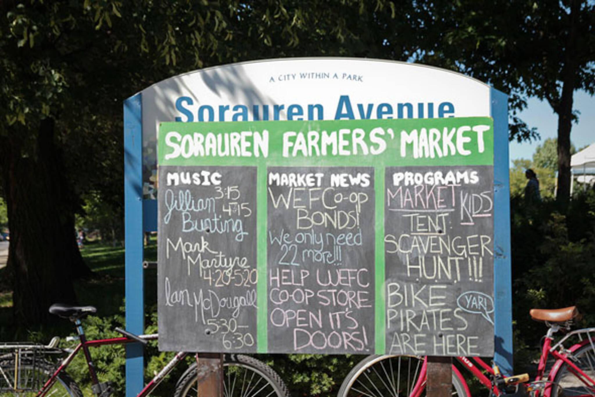 sorauren farmer's market toronto