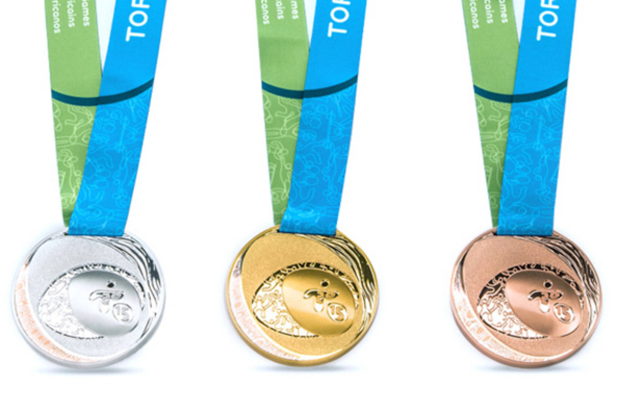 toronto pan am games 2015 medals