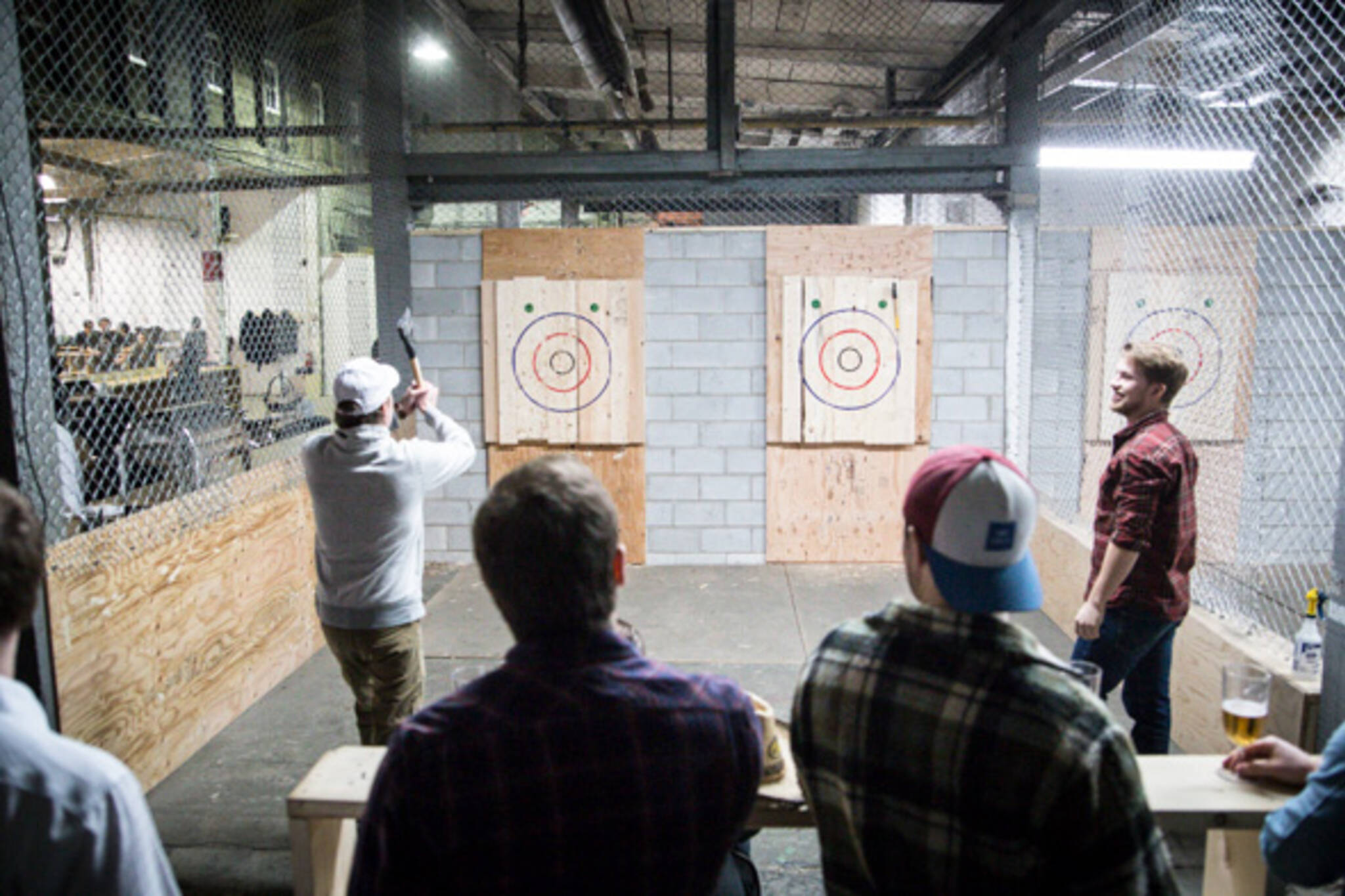 Backyard Axe Throwing League