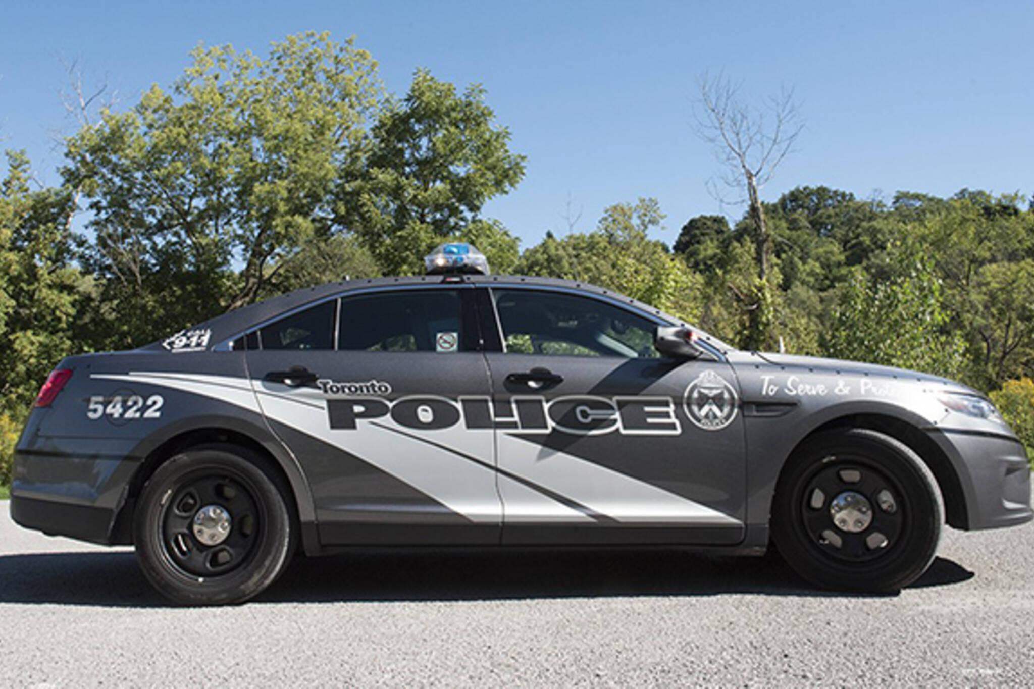 new toronto police car