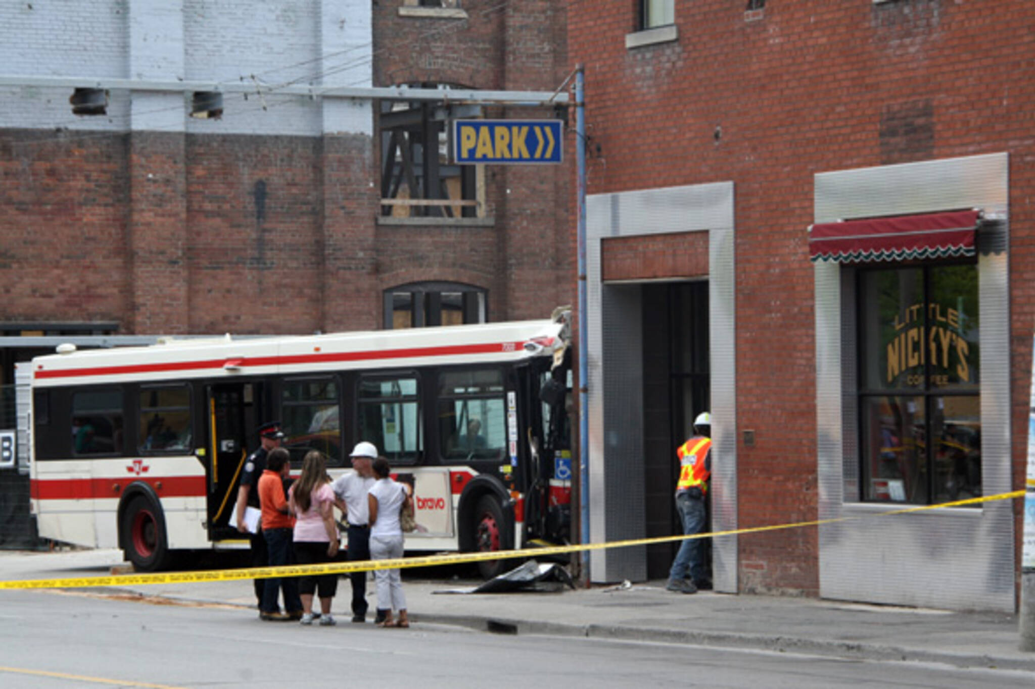 TTC bus crash