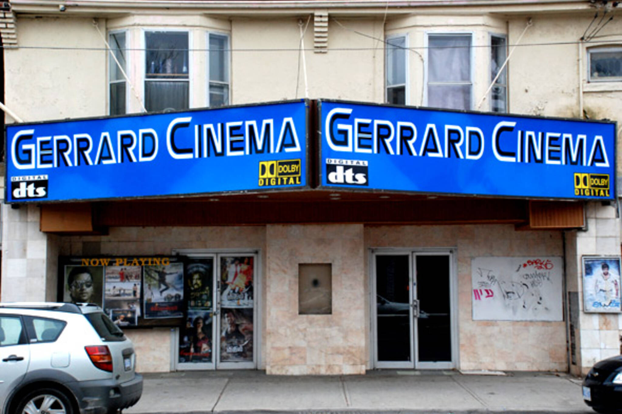 Gerrard Cinema Projection Booth