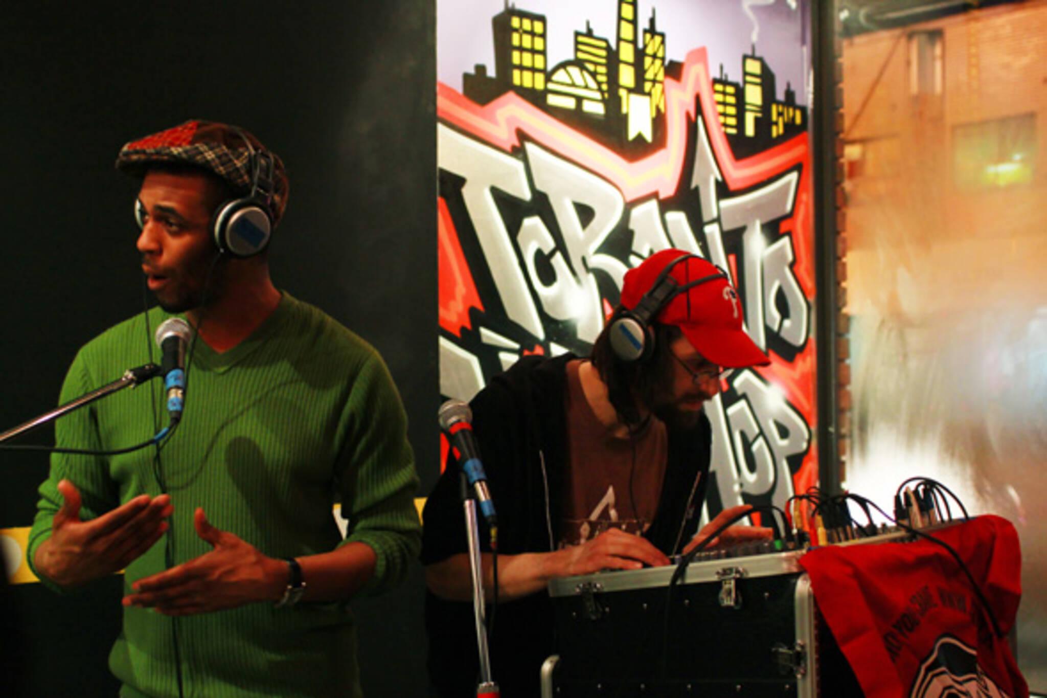 T-dot Pioneers hip hop exhibit