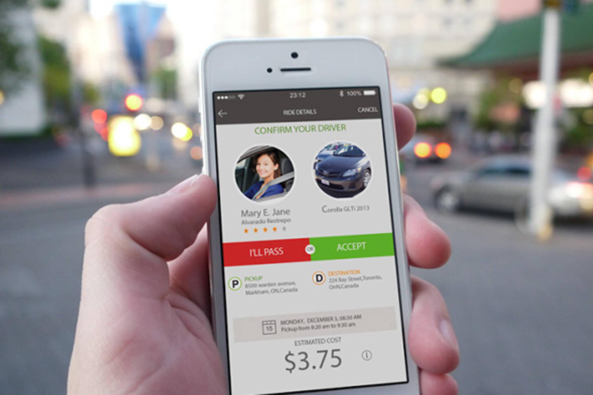 Toronto Gets A New Carpooling App