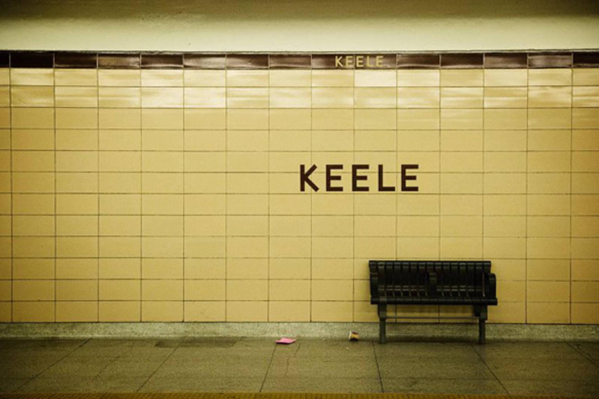 Keele Subway Station Toronto