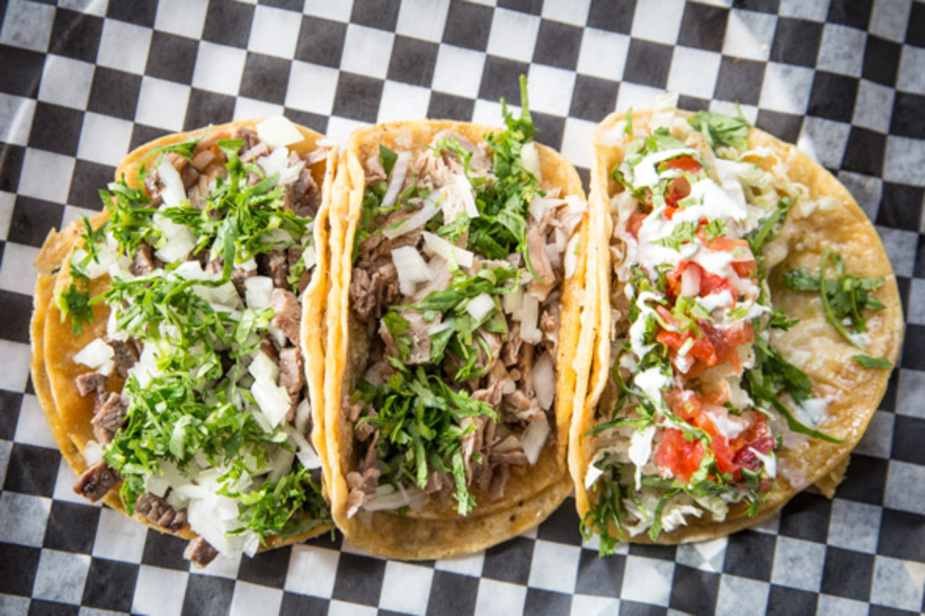 New taco joint doubles as Mexican food shop