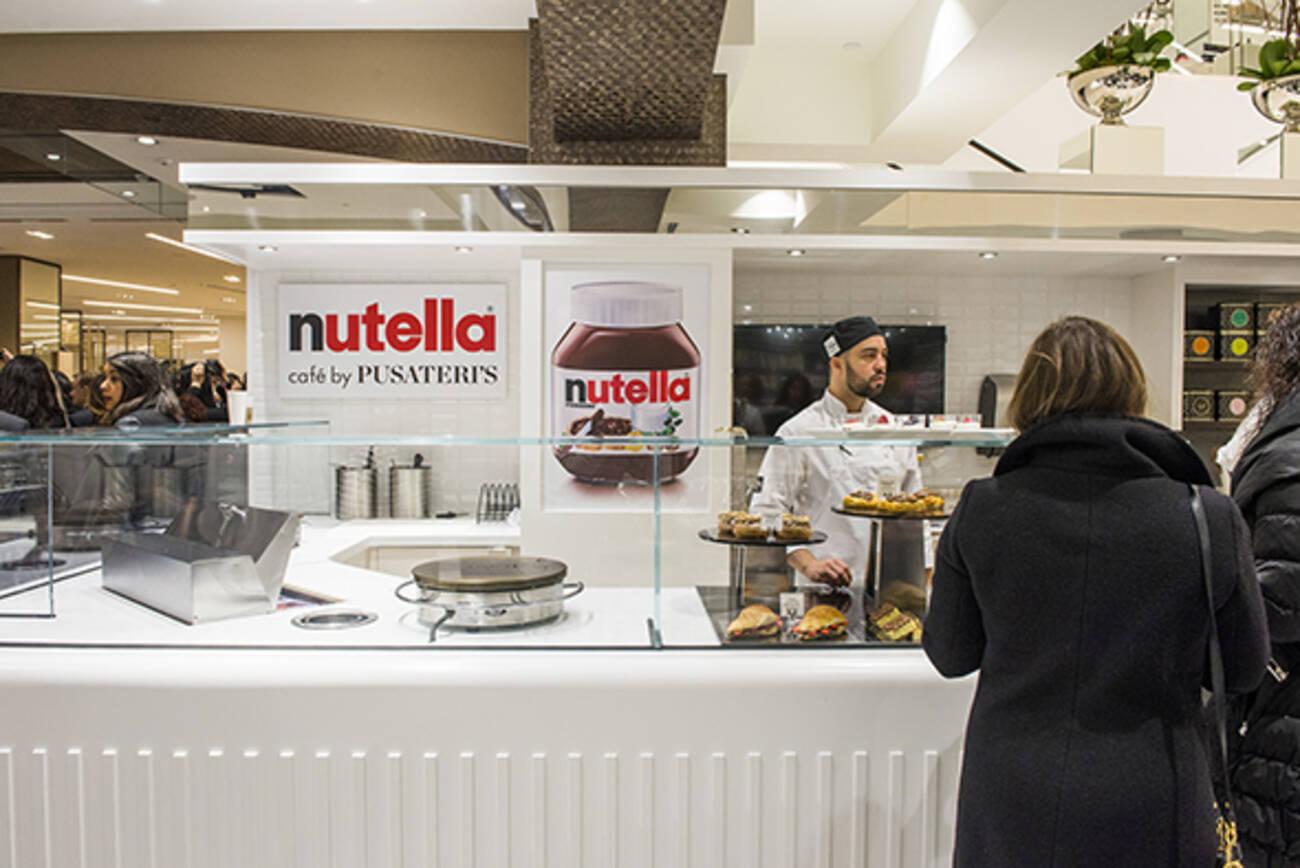 Nutella Cafe Sherway Gardens