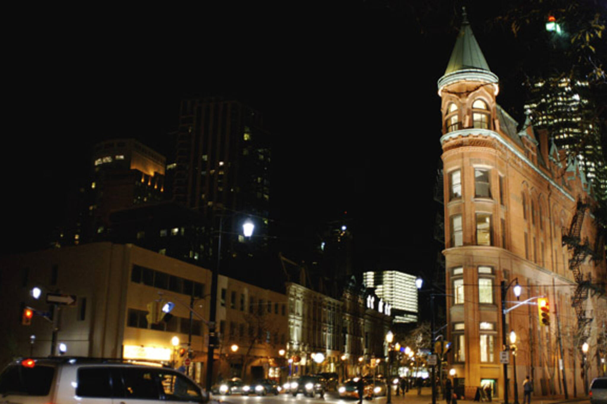 Heritage Lights in St. Lawrence Market neighbourhood
