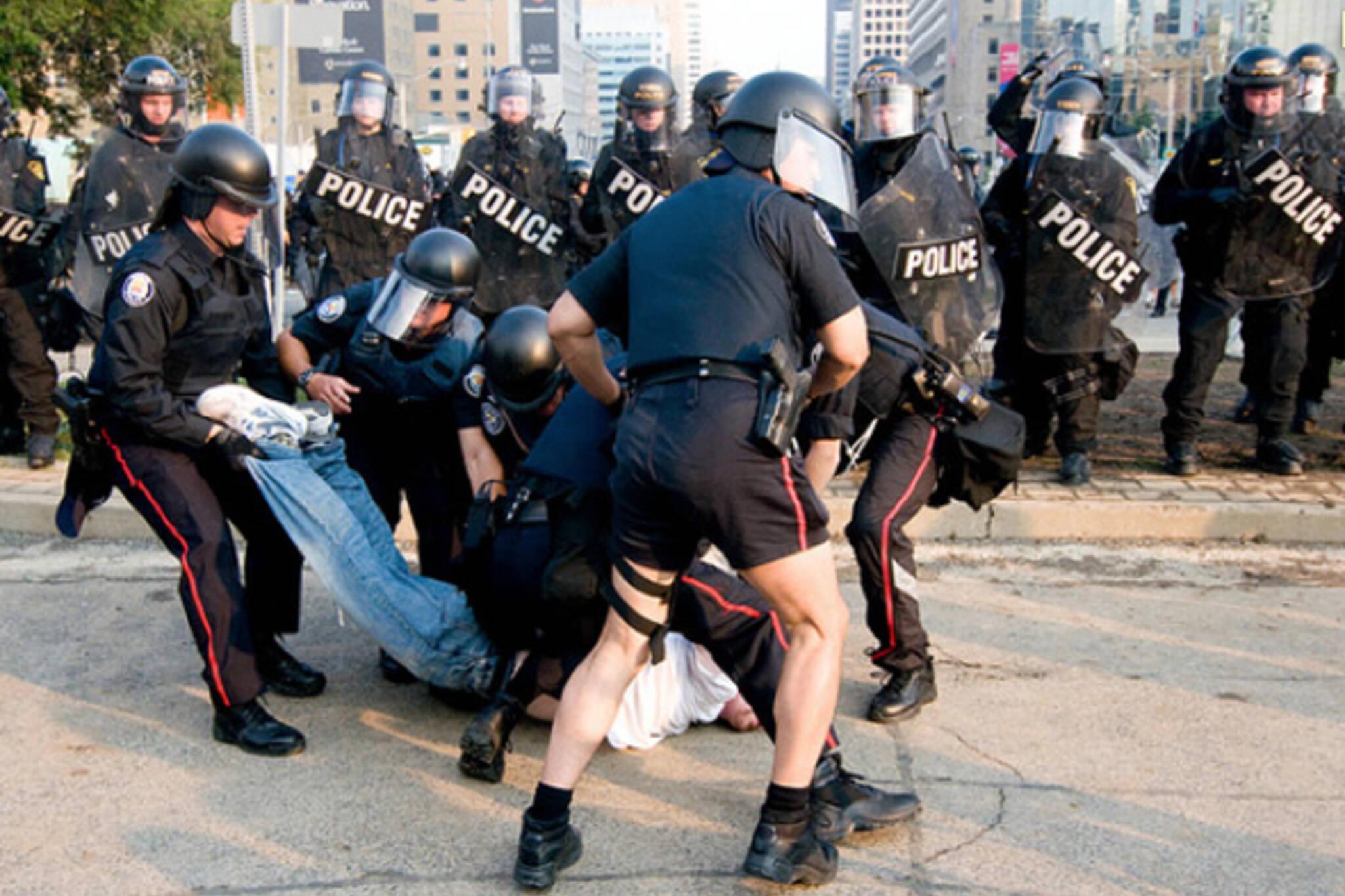 G20 arrest toronto