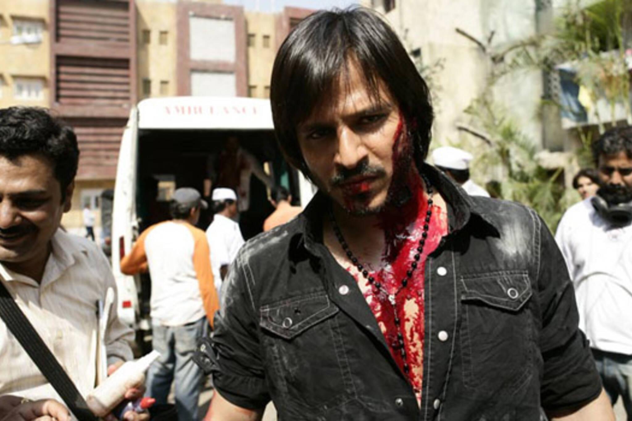 Shot in Bombay