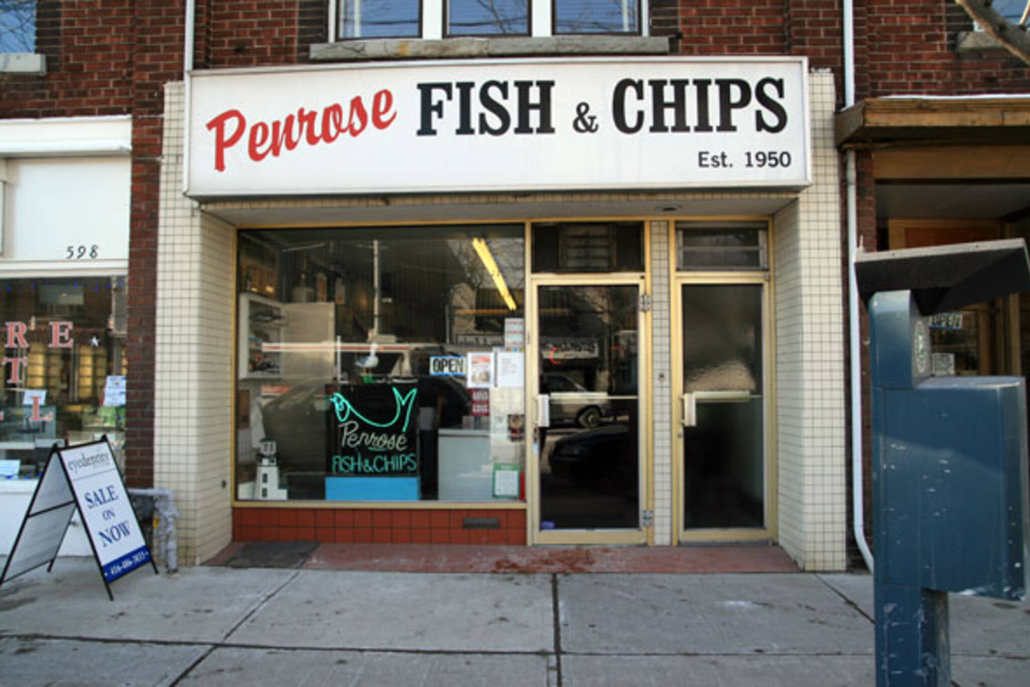 penrose fish chips