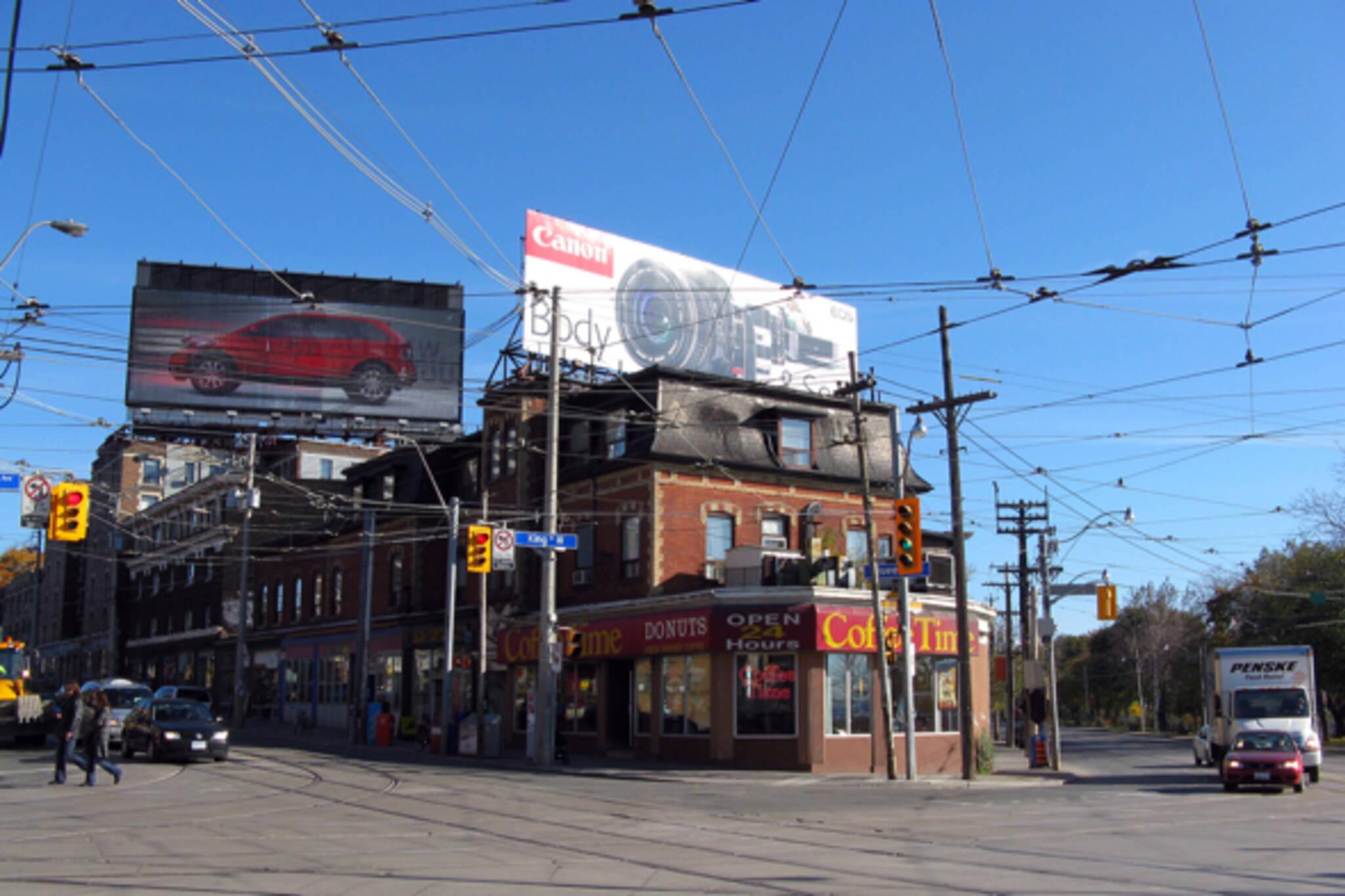 billboard tax toronto