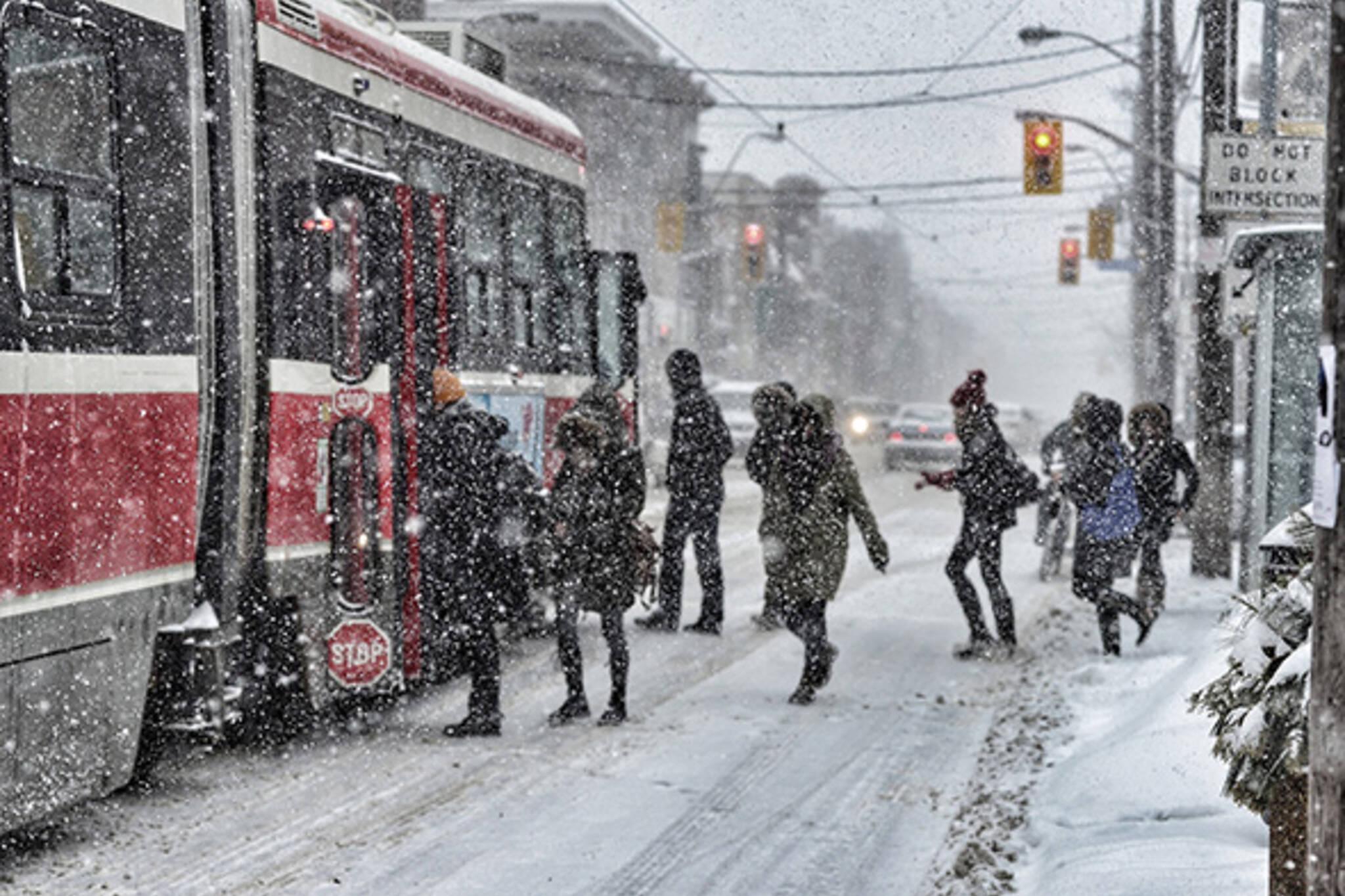 Toronto Winter Street Fashion