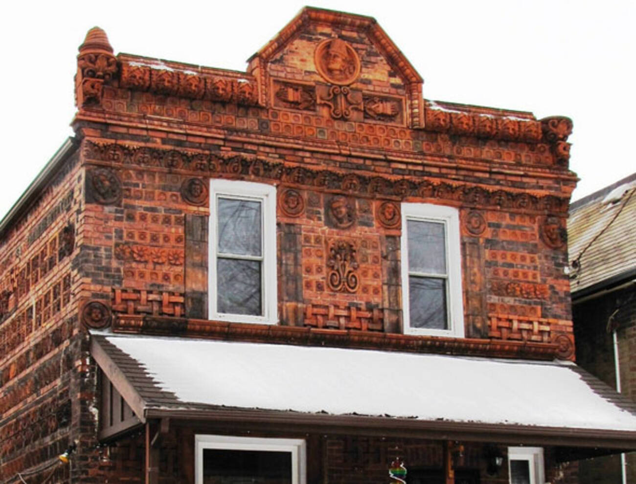 Why Is This West Bend Home Covered In Terracotta Tiles