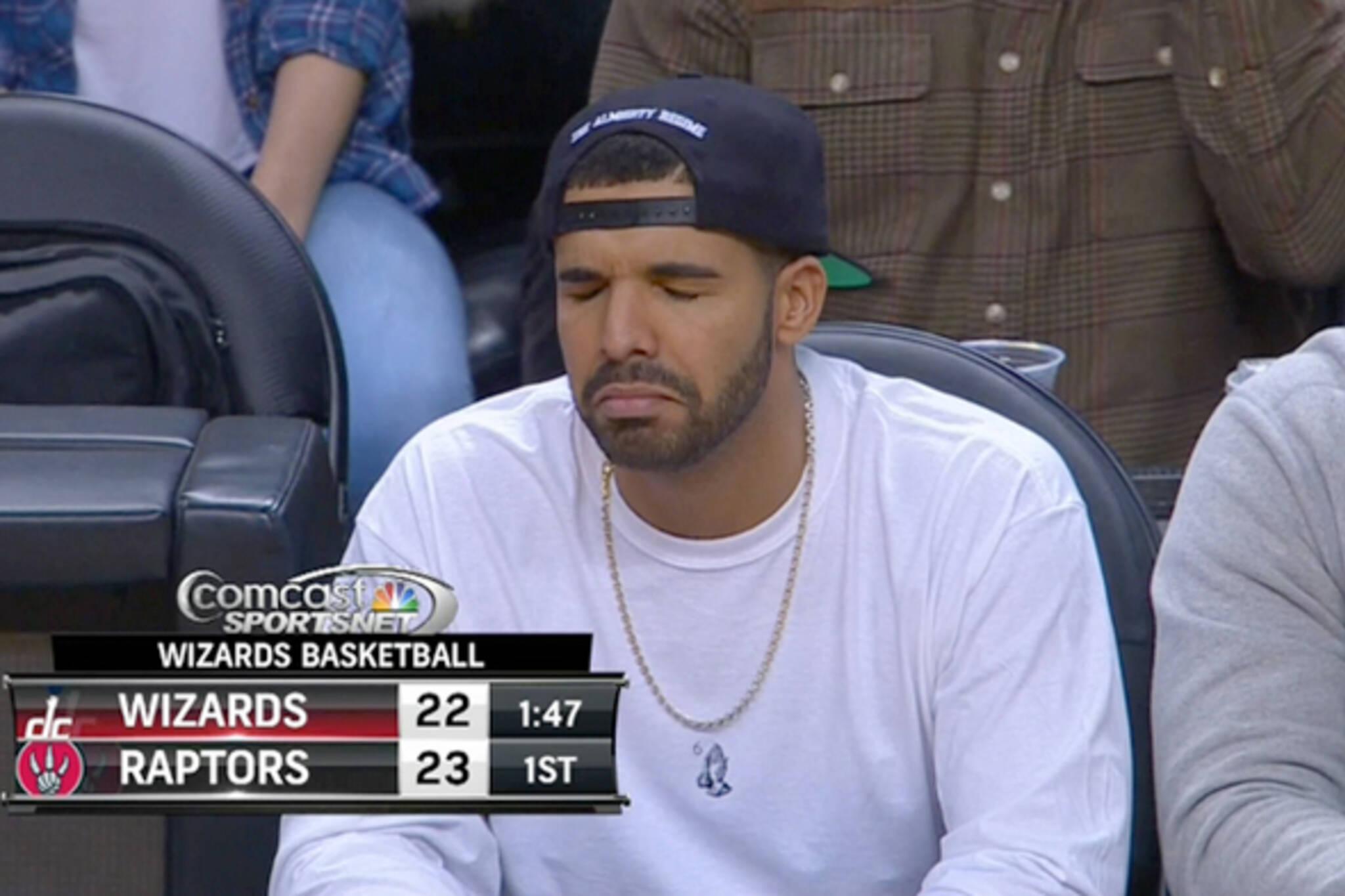 Drake sad face