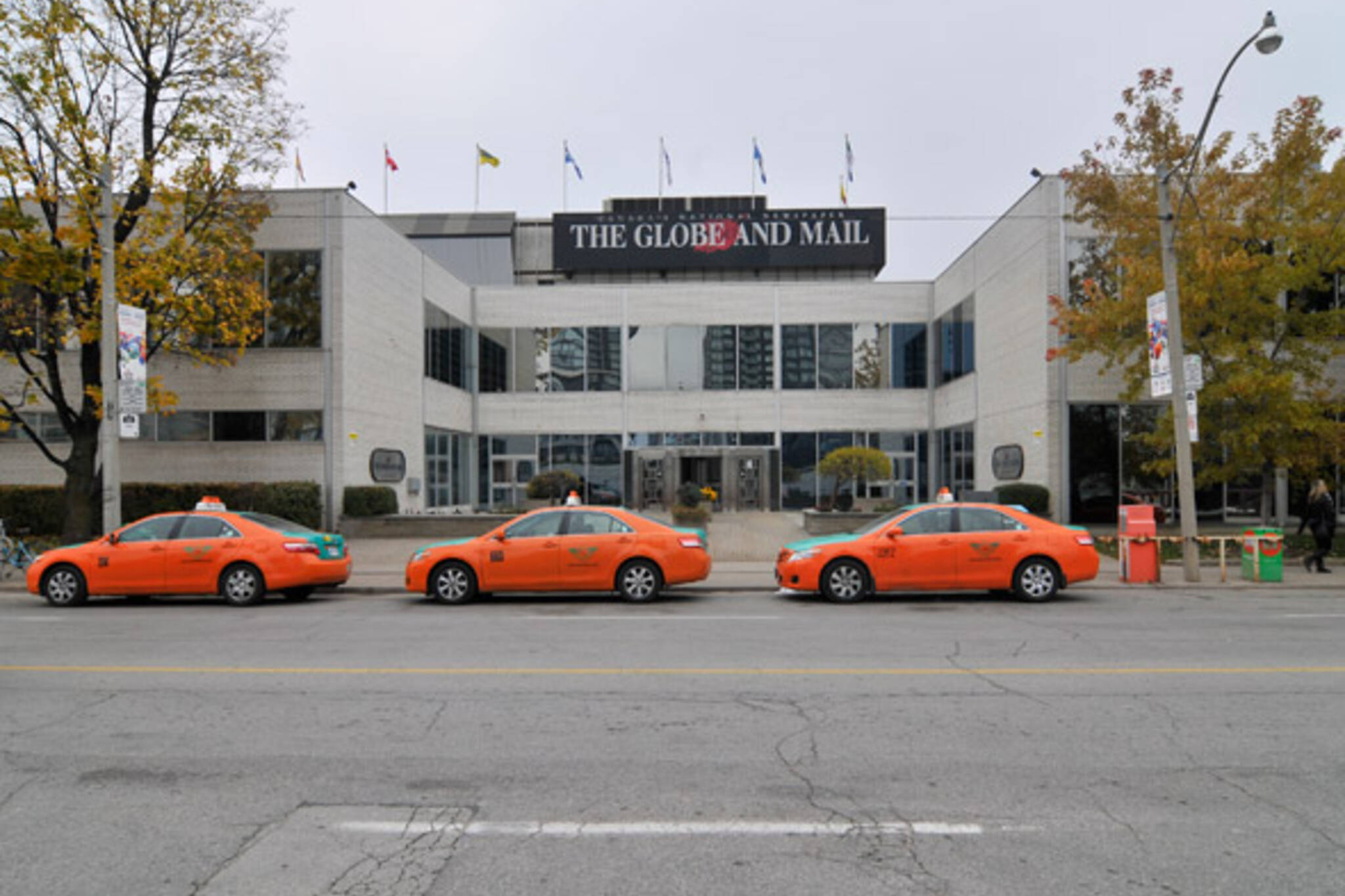 Globe and Mail Retail Mall Front