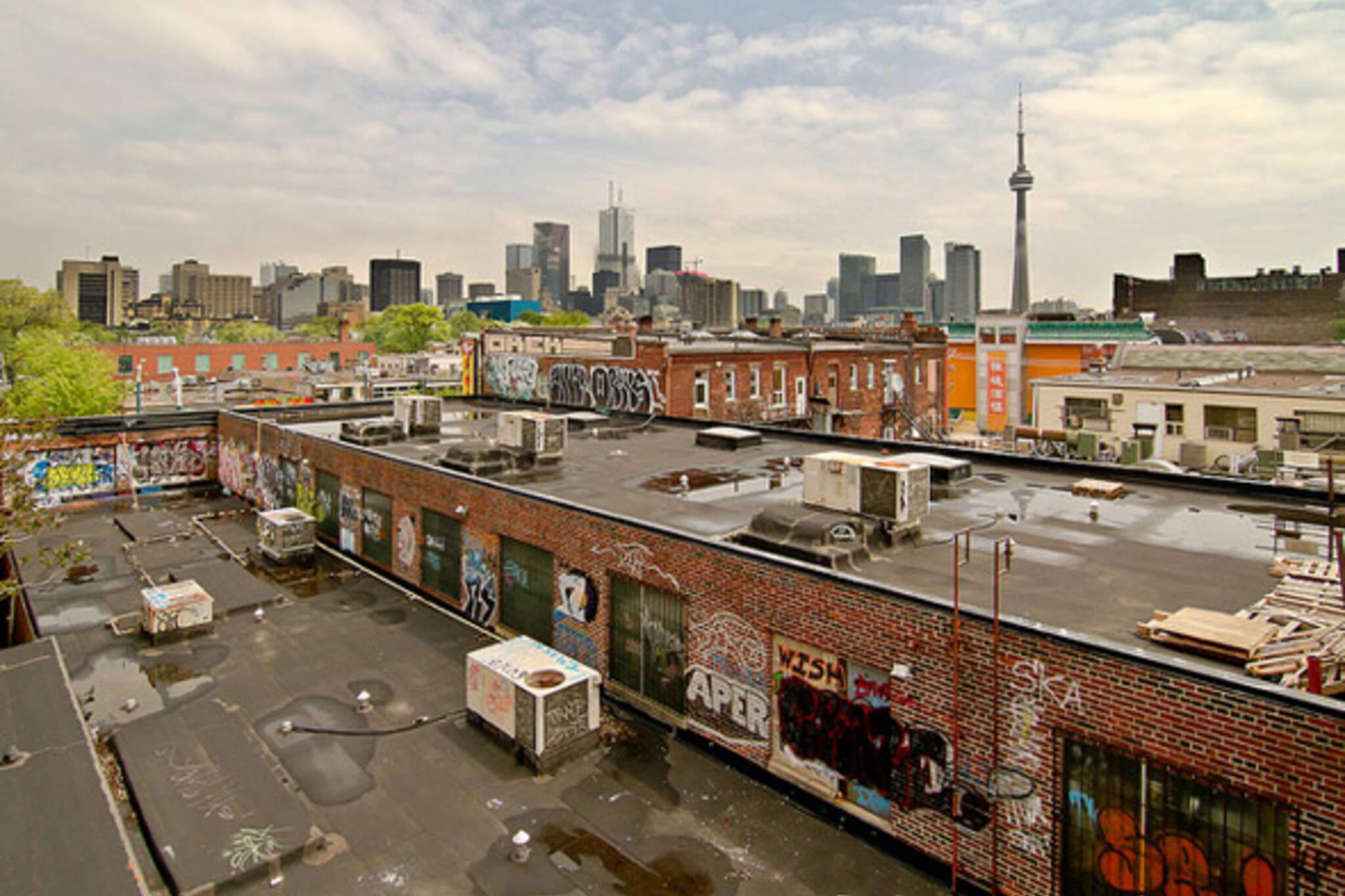 Toronto Kensington skyline