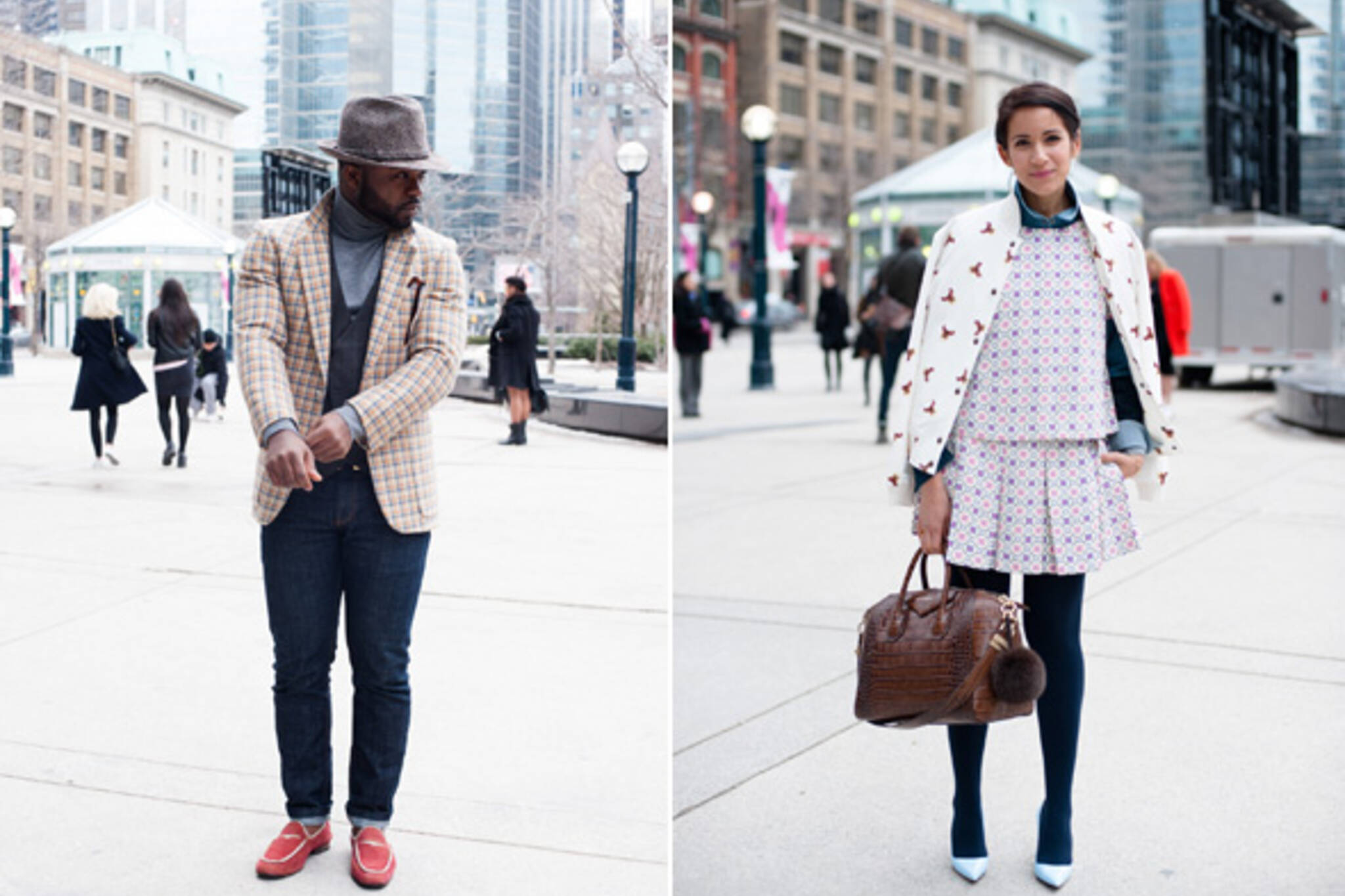 Street Style 15 Killer Outfits At Toronto Fashion Week