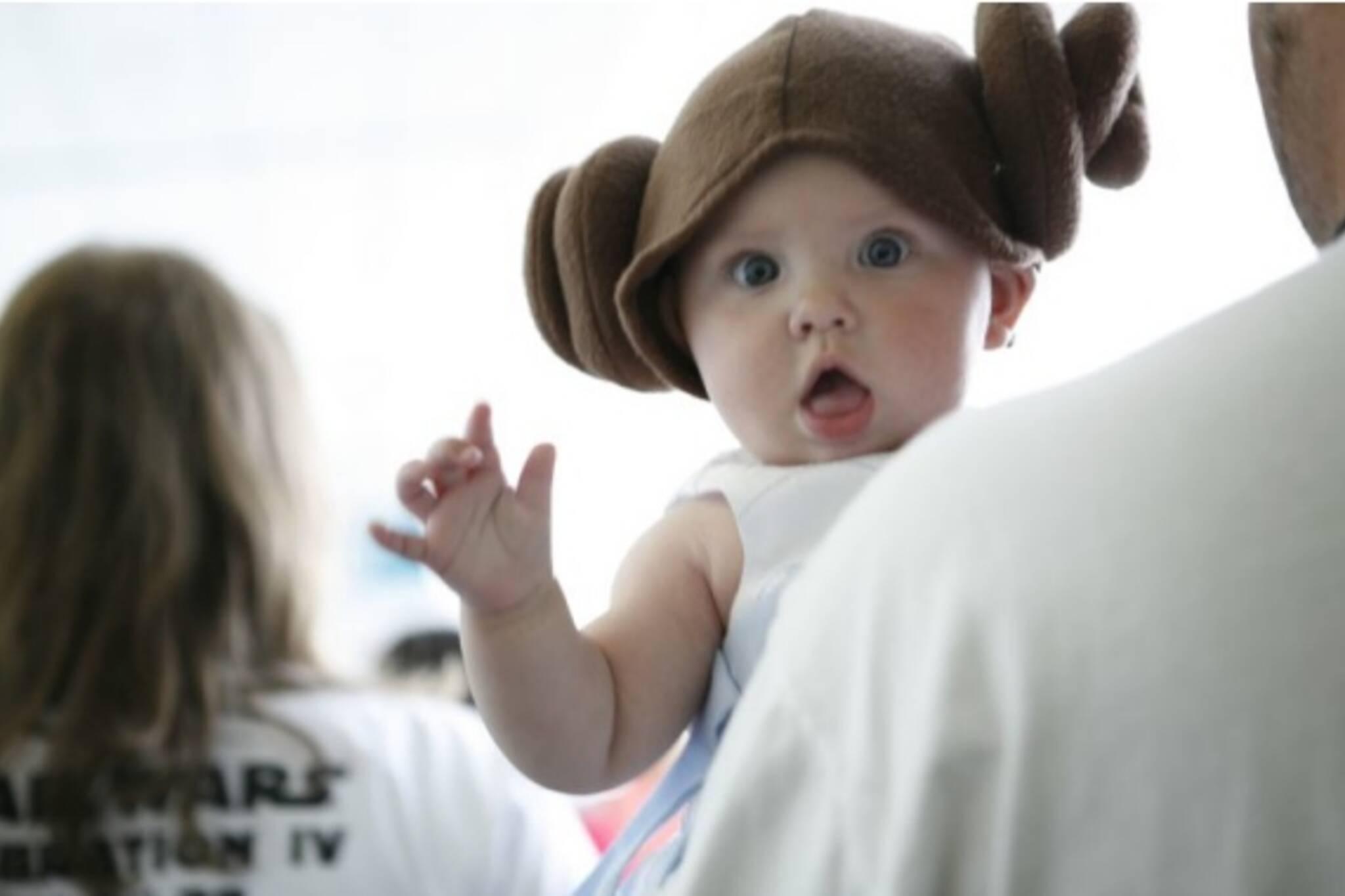 Dress Like Princess Leia, Win Free Movies