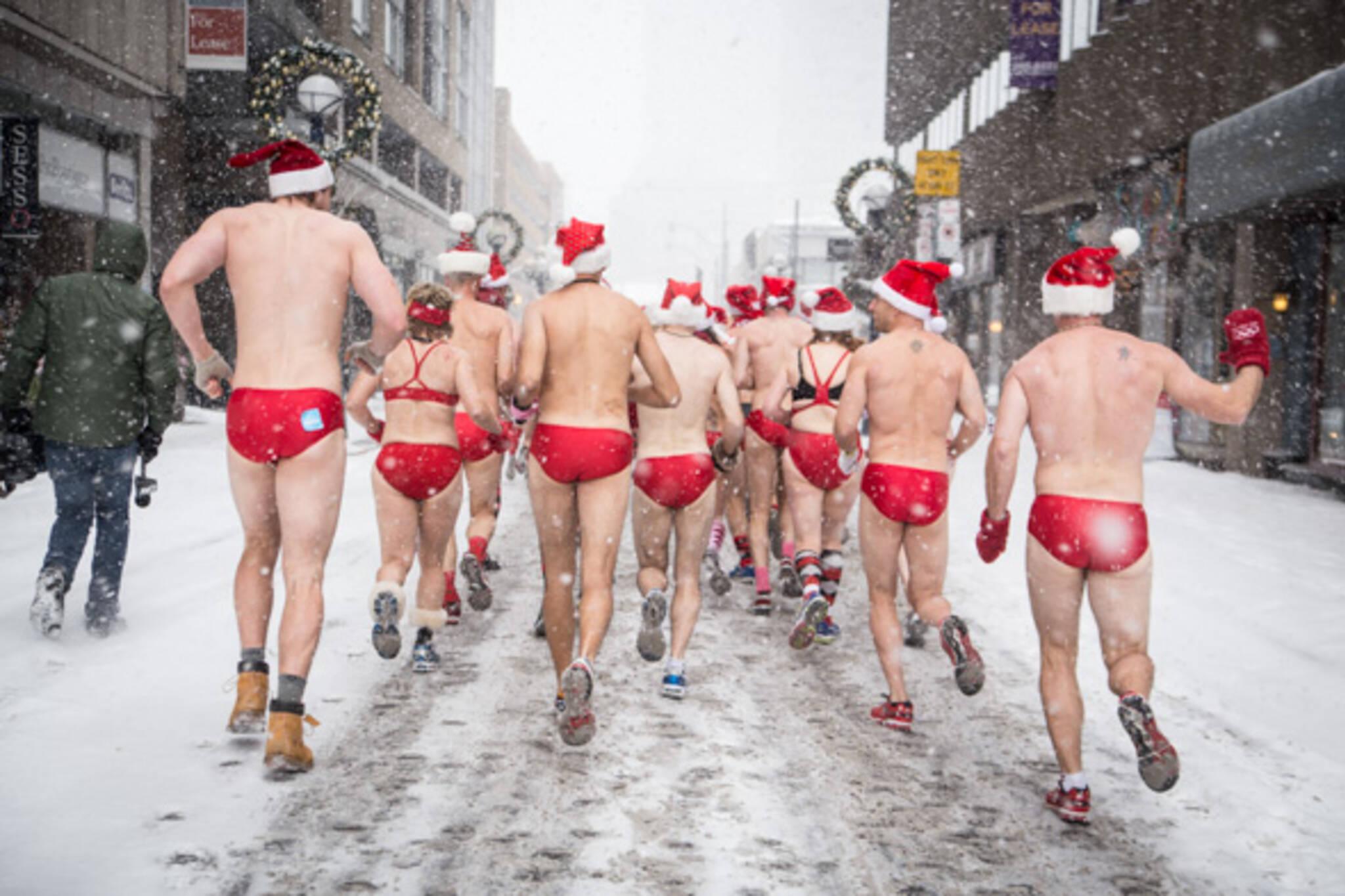 Santa Speedo Run Toronto