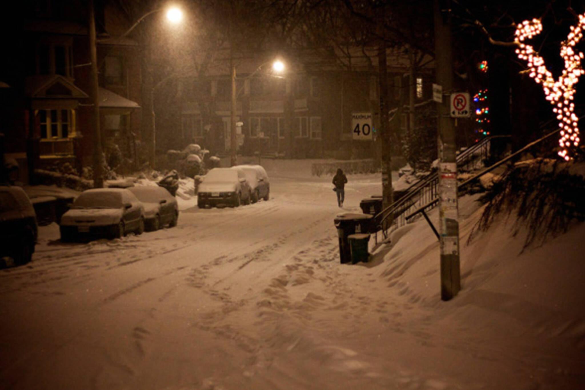 Snow Toronto