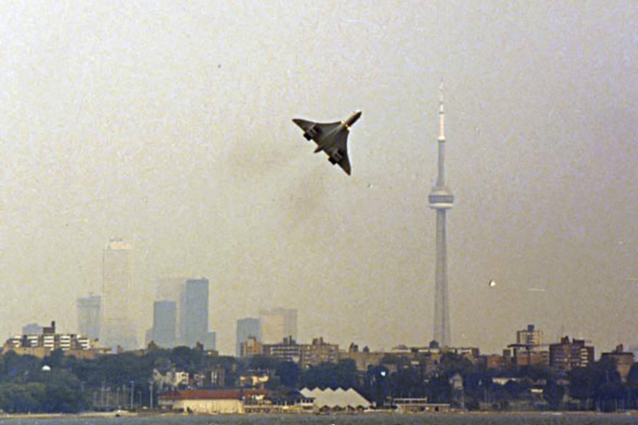 Concorde Toronto plane