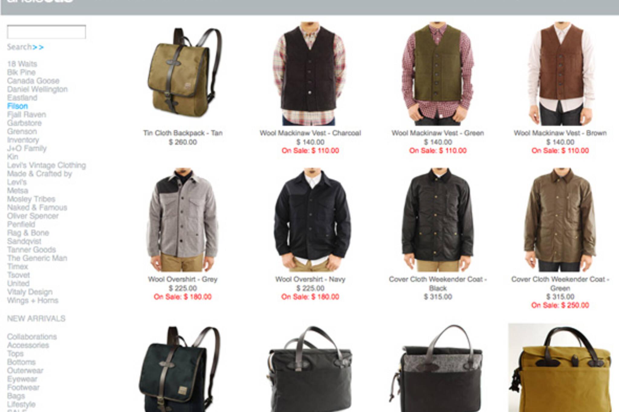 Toronto online store