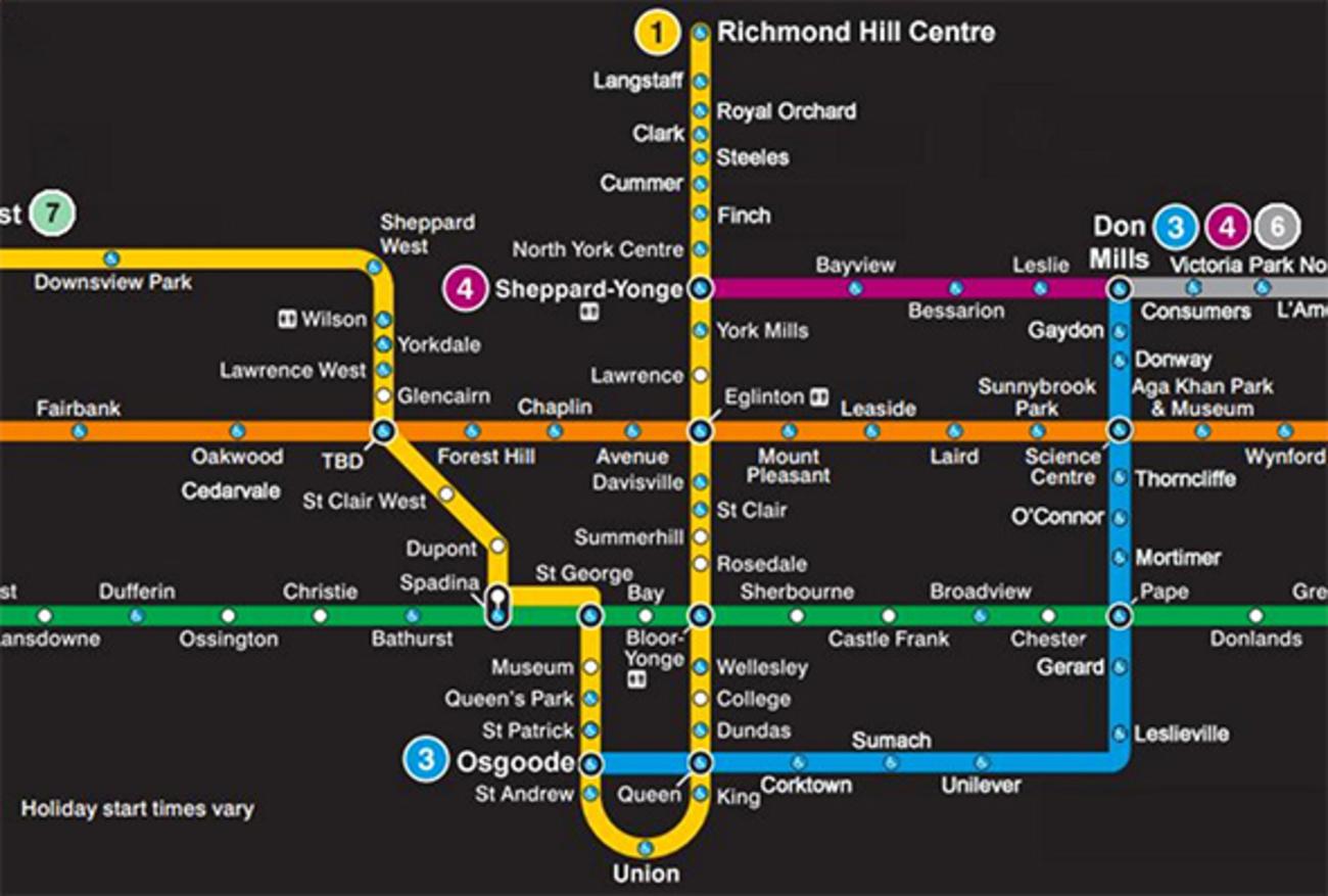 Ttc Subway Map Future