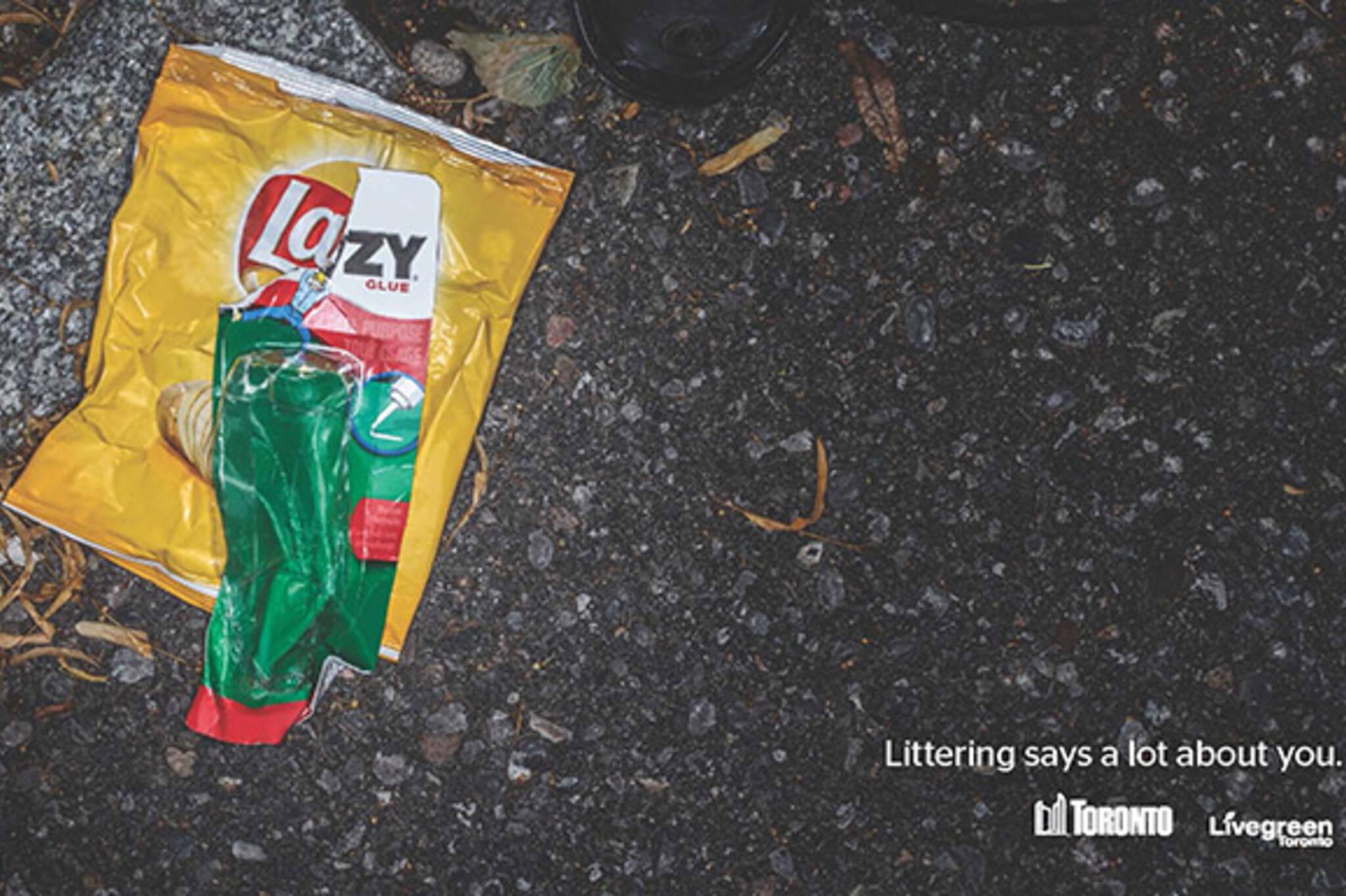anti litter ads toronto