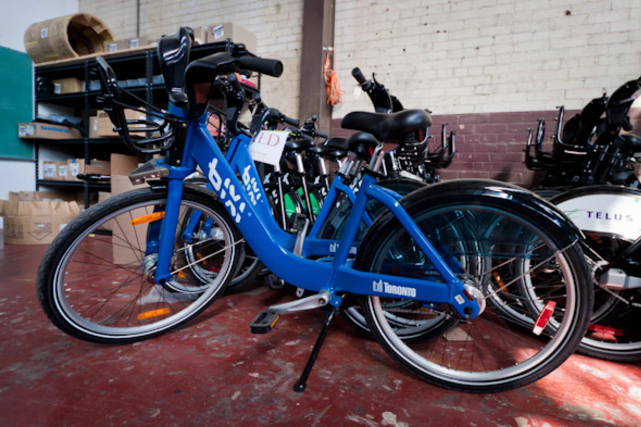 BIXI Bike Warehouse Toronto