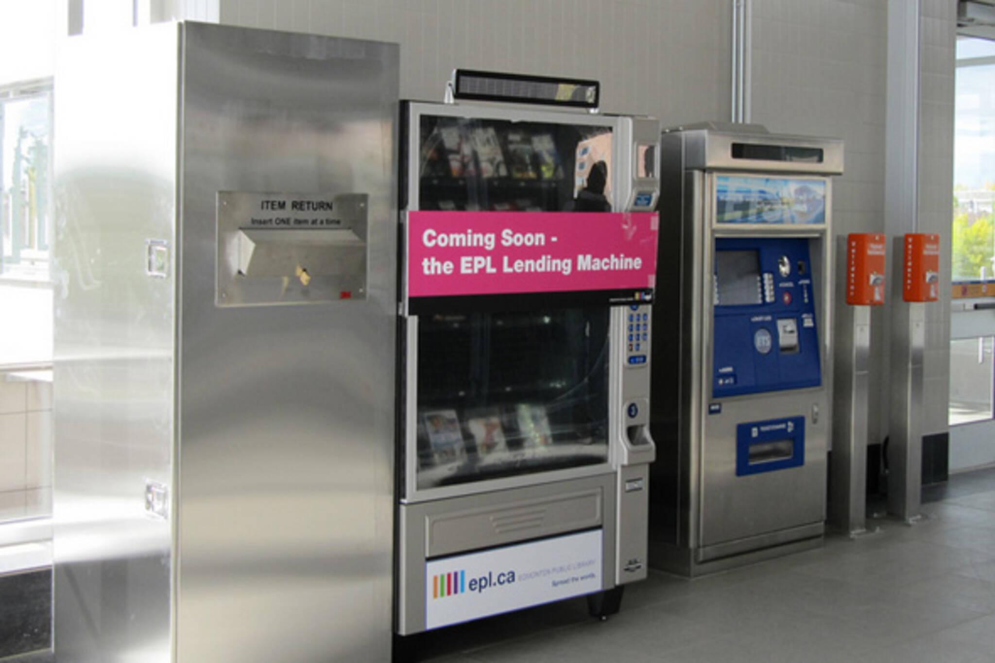 book vending machine