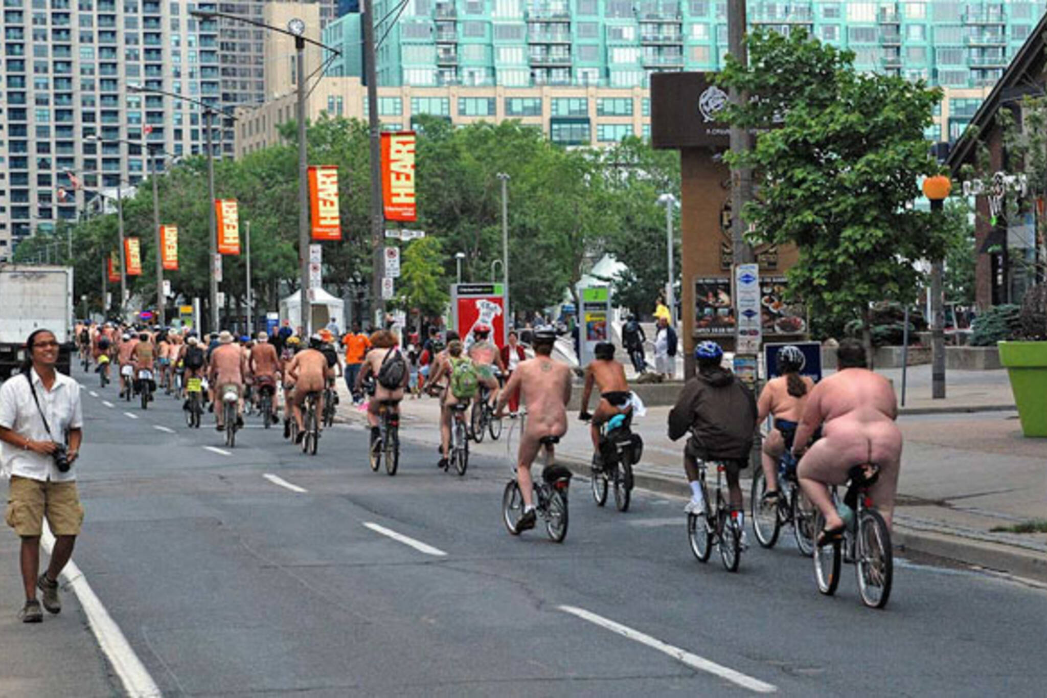 World Naked Bike Ride Toronto