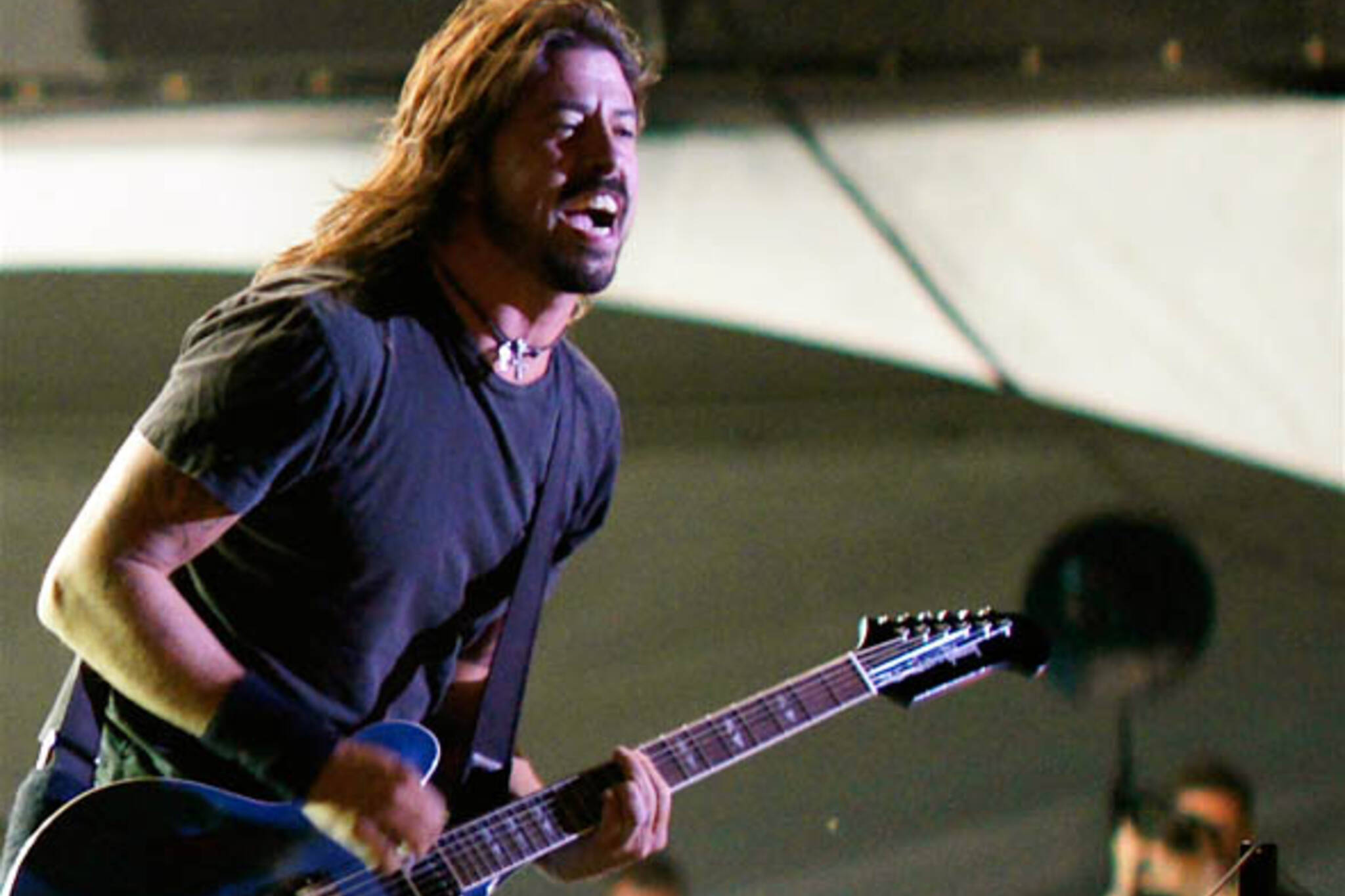 Dave Grohl of Foo Fighters at Virgin Music Festival in Toronto