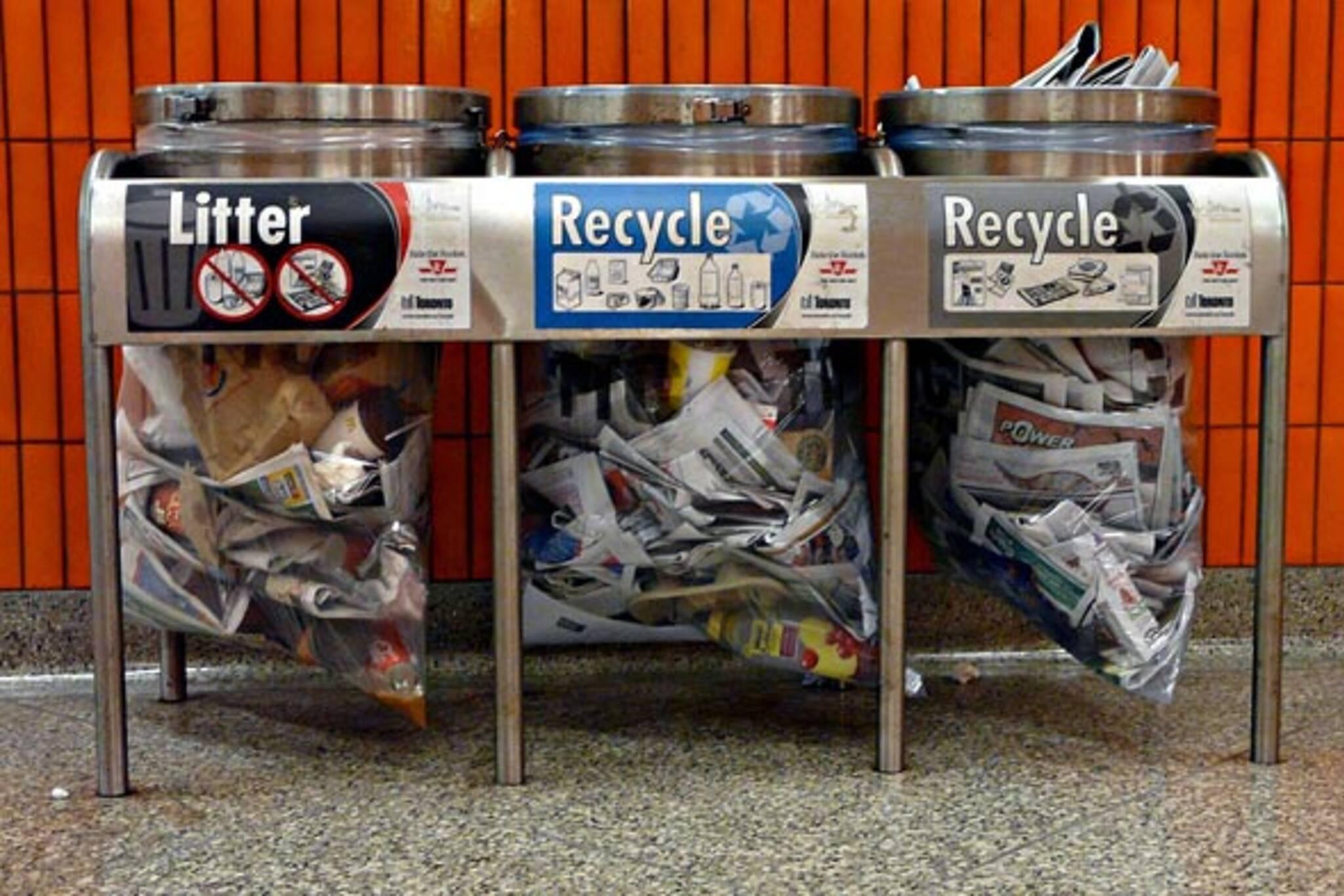 ttc toronto recycling apathy
