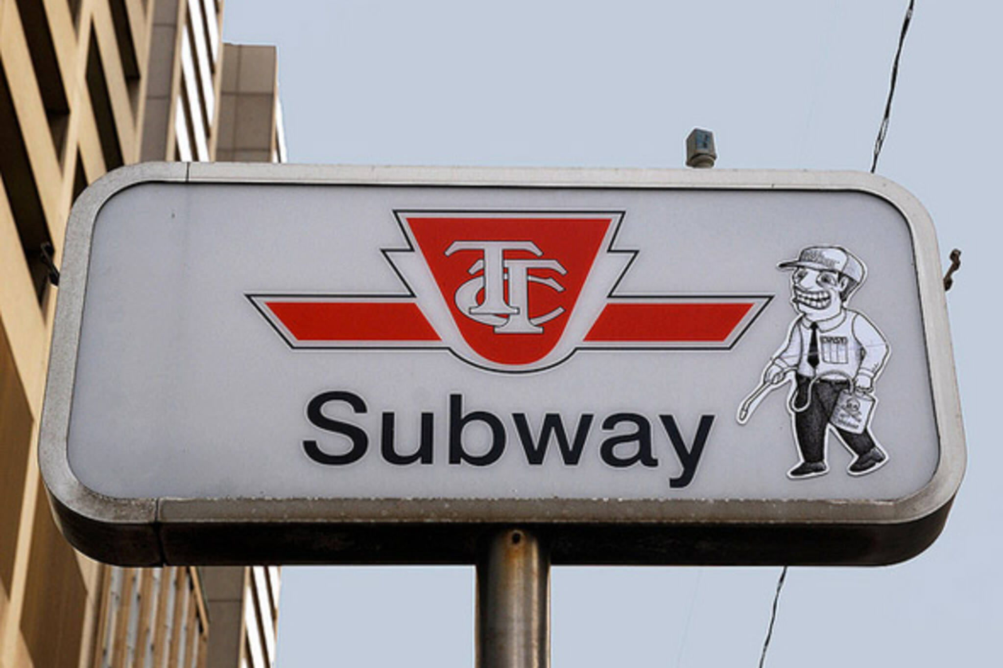 Altered Sign TTC Toronto