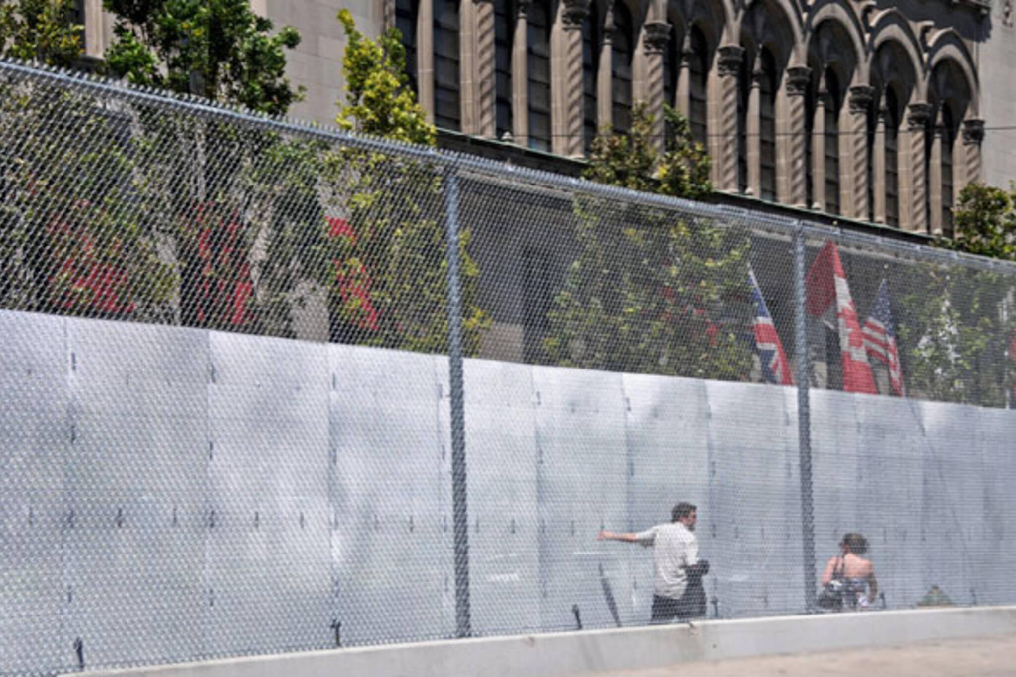 g20 wall toronto