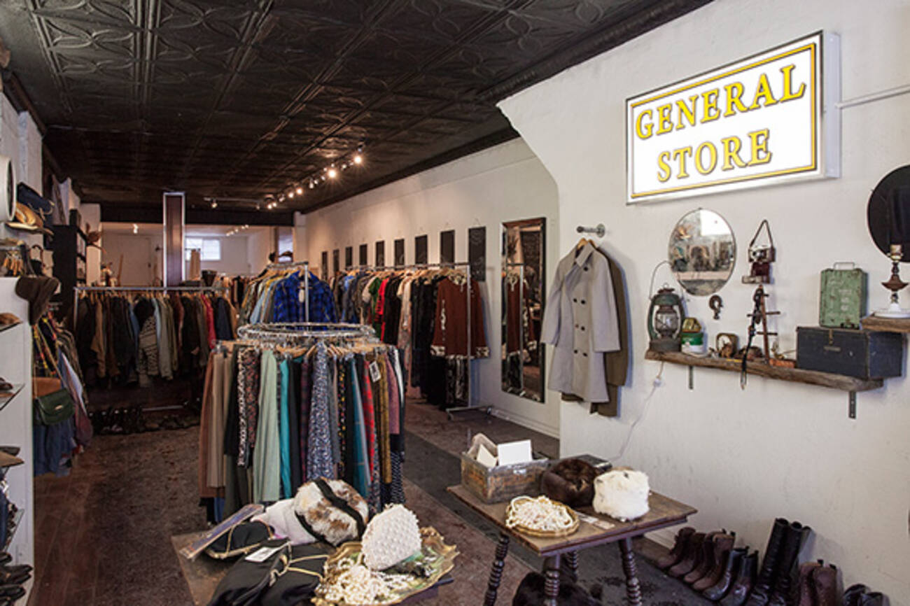 New General Store Marries Vintage Clothing And Tea