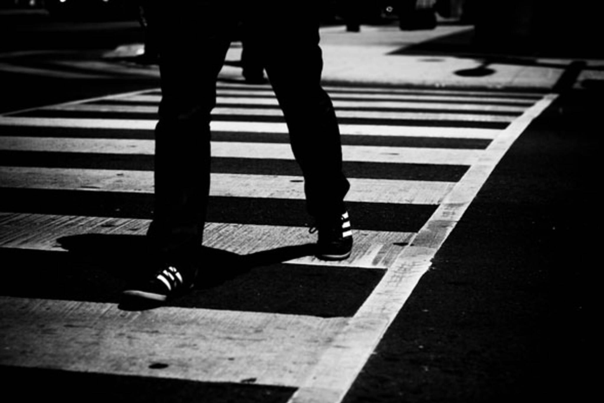 walking on tracks