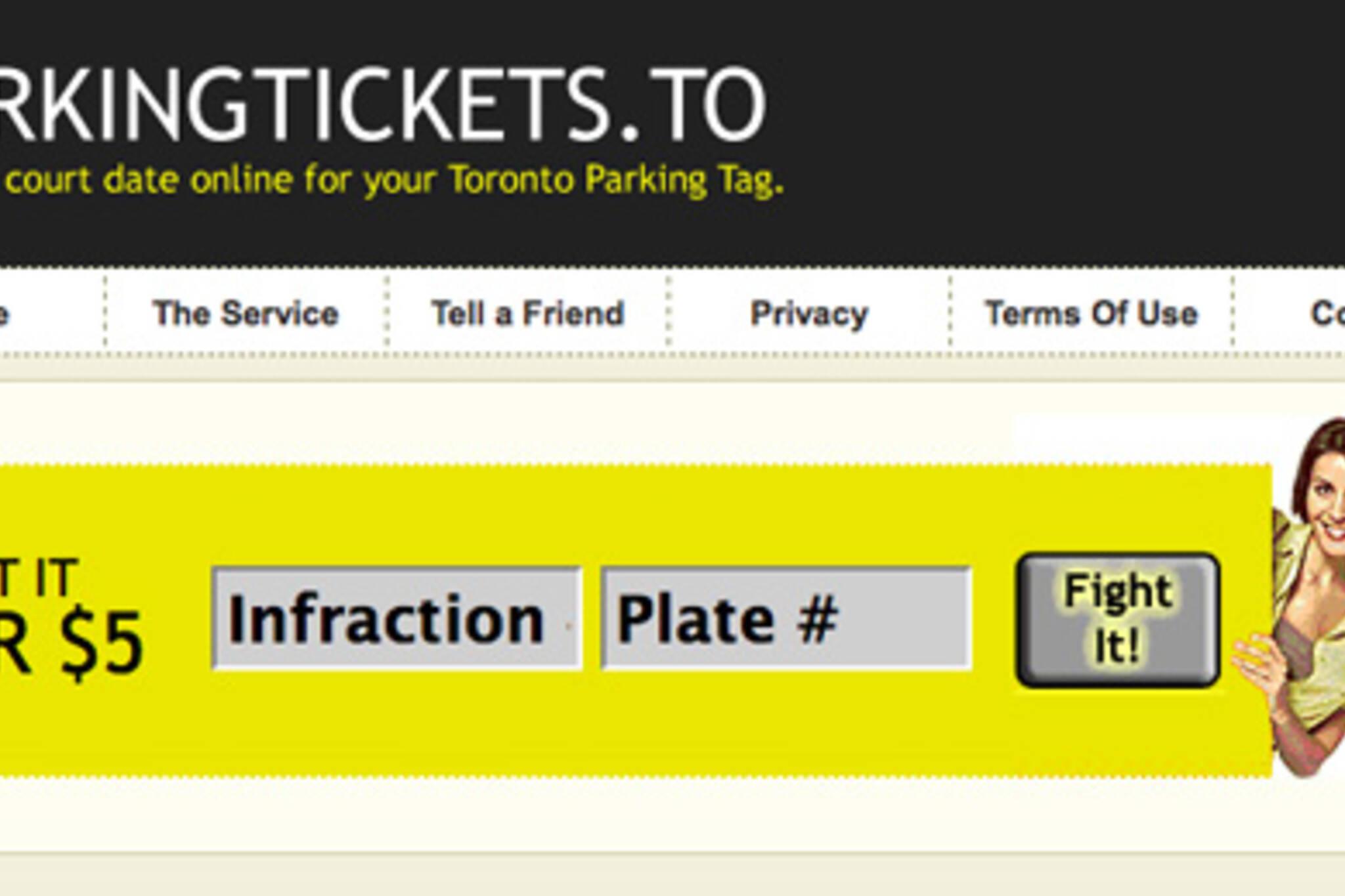 Toronto Parking Tickets