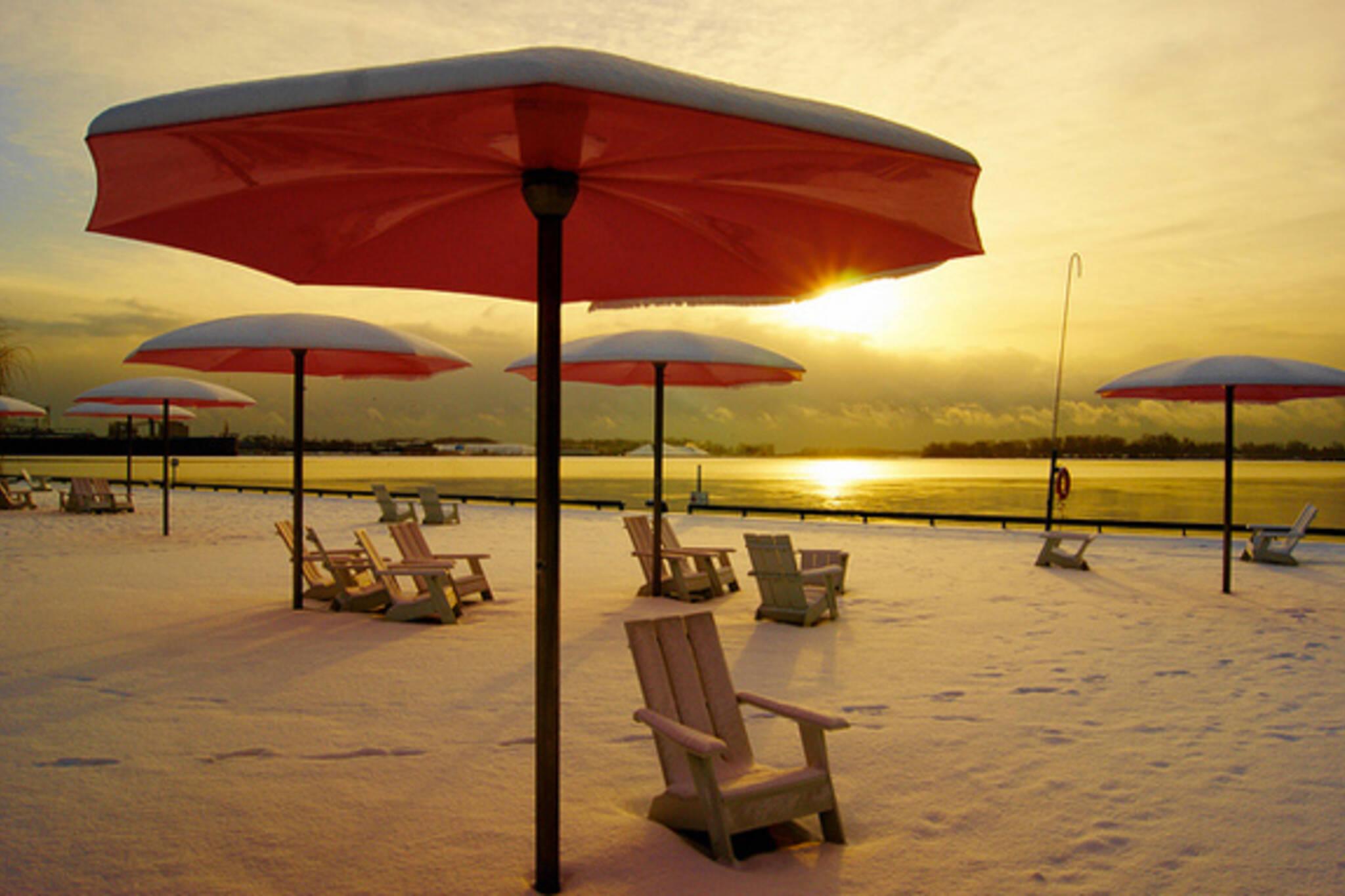 Sugar Beach Winter