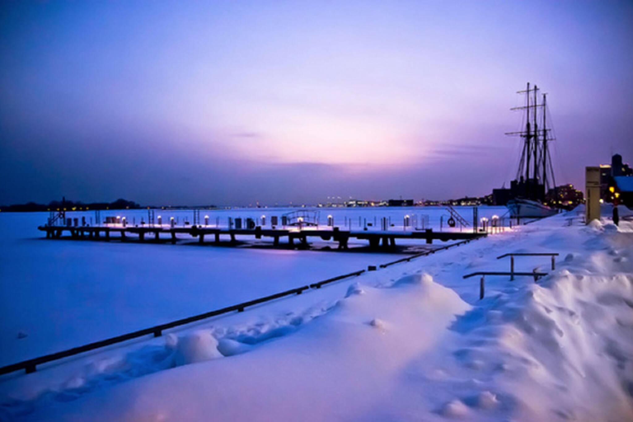 Sunset Toronto Bay
