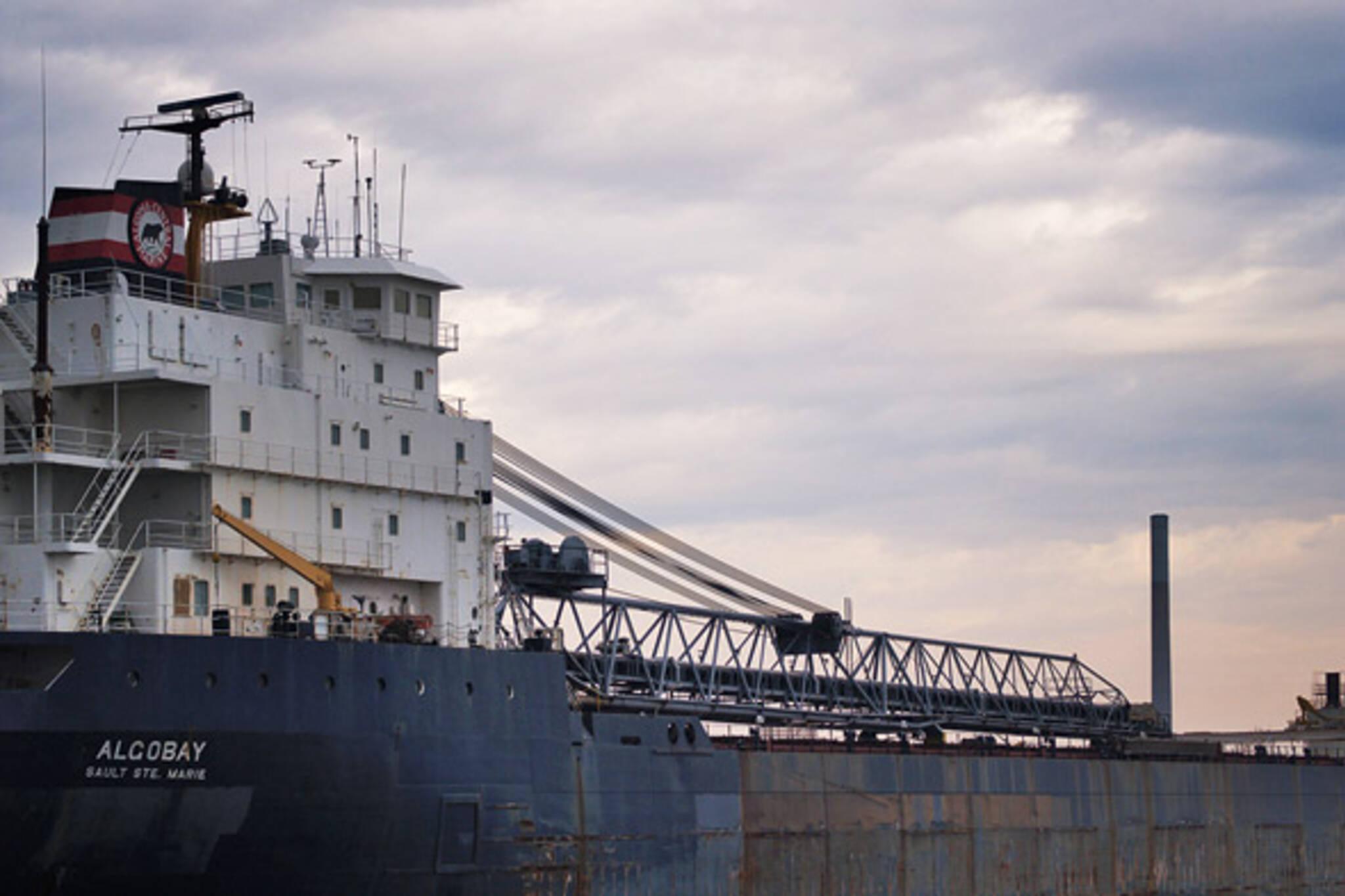 Algobay docked in Toronto Portlands