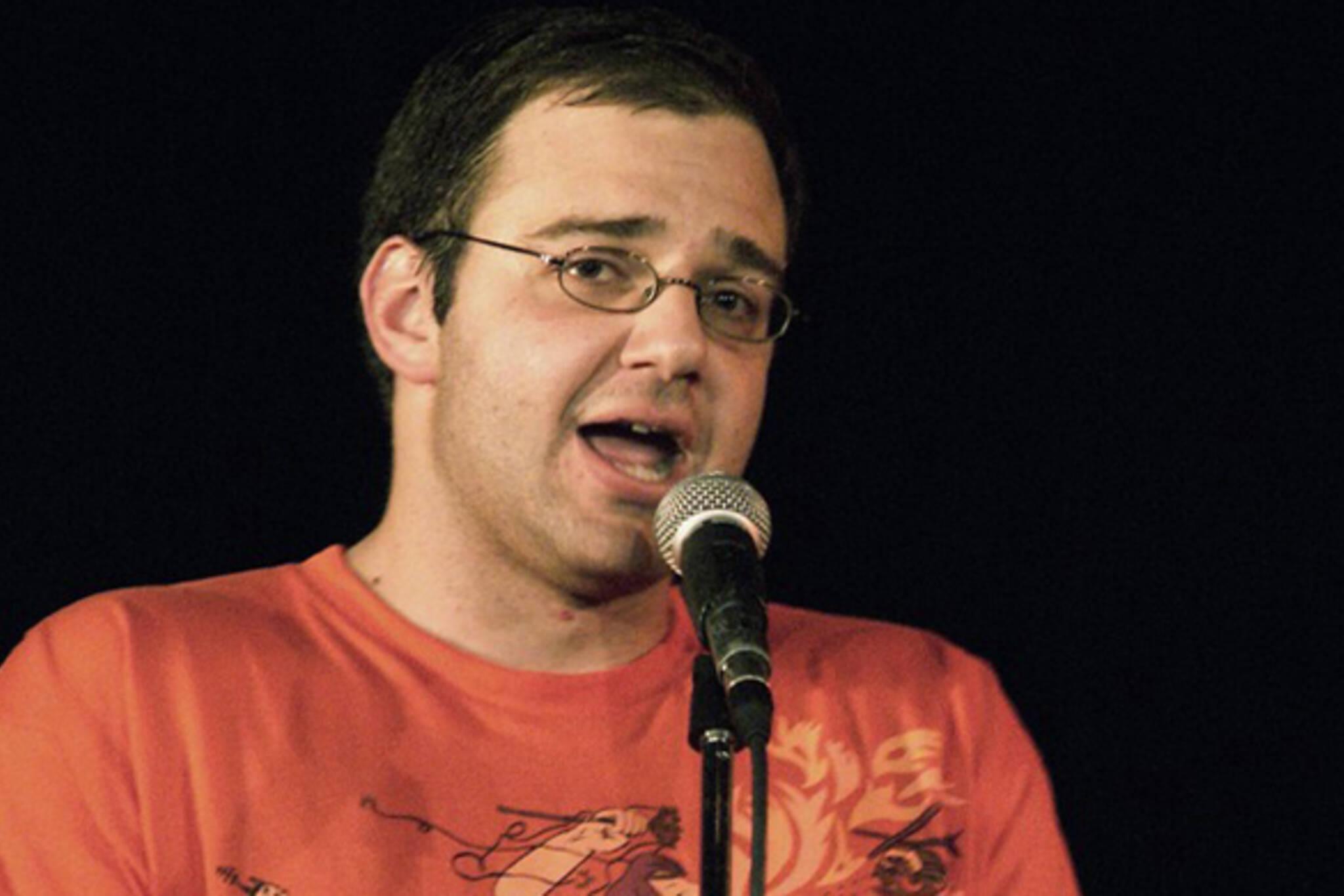 David Silverberg; host of Toronto Poetry Slam