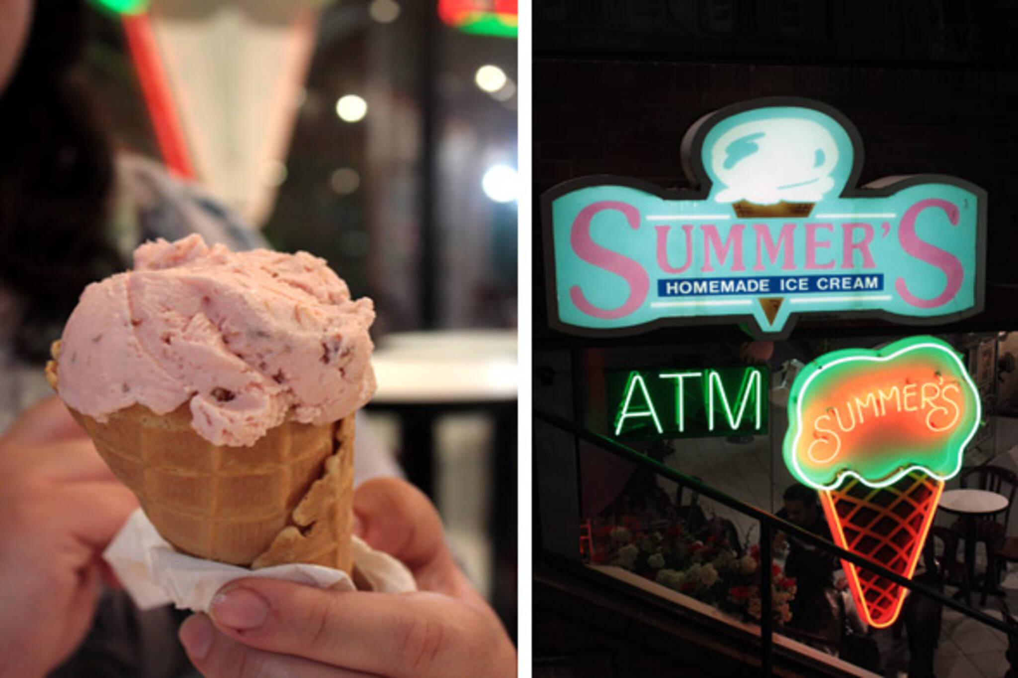 summer's ice cream toronto