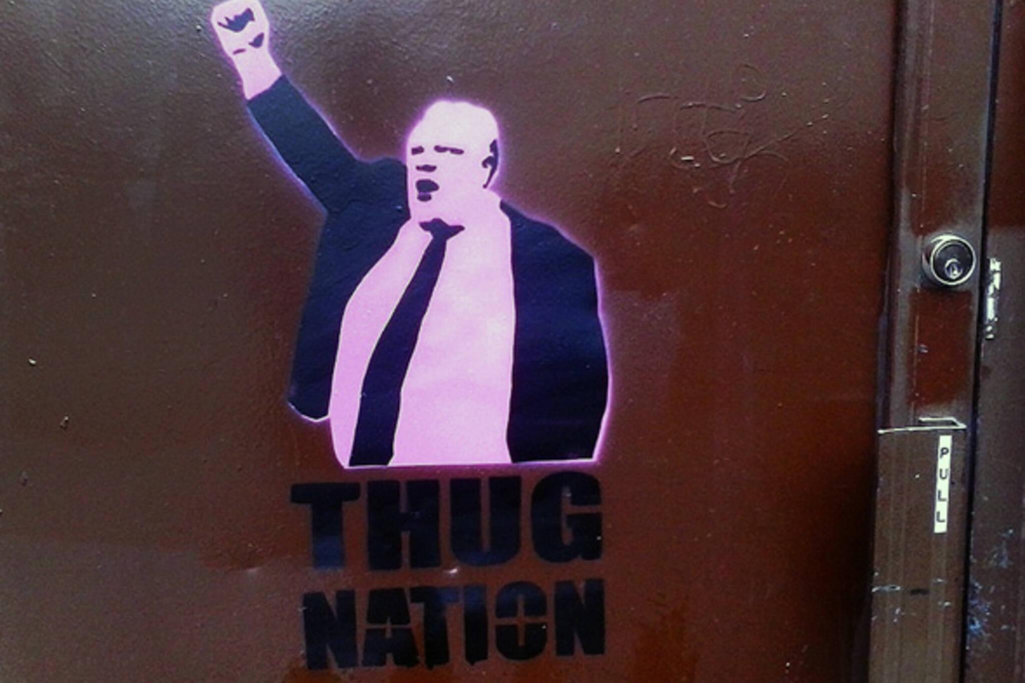 Rob Ford thug