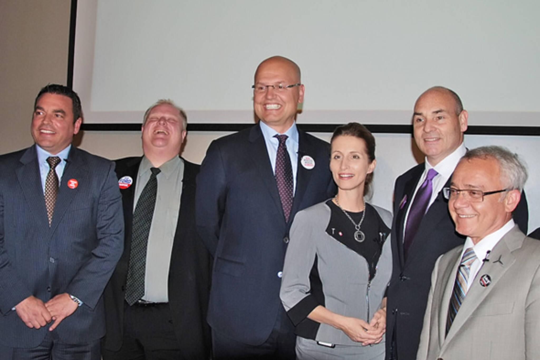 Toronto mayoral candidate