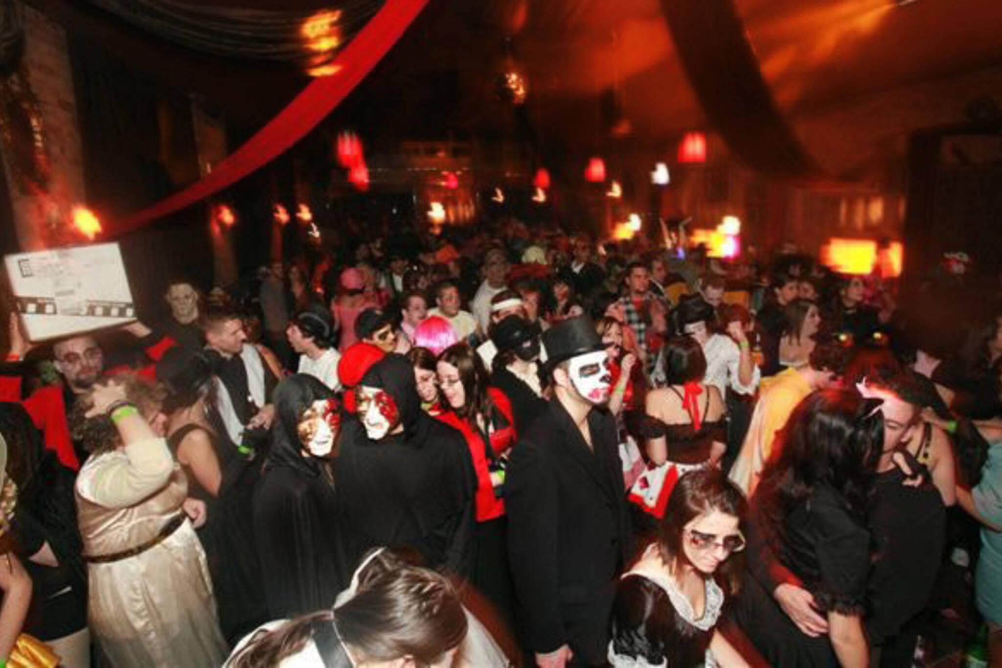 Hard Rock Cafe Halloween Party Toronto