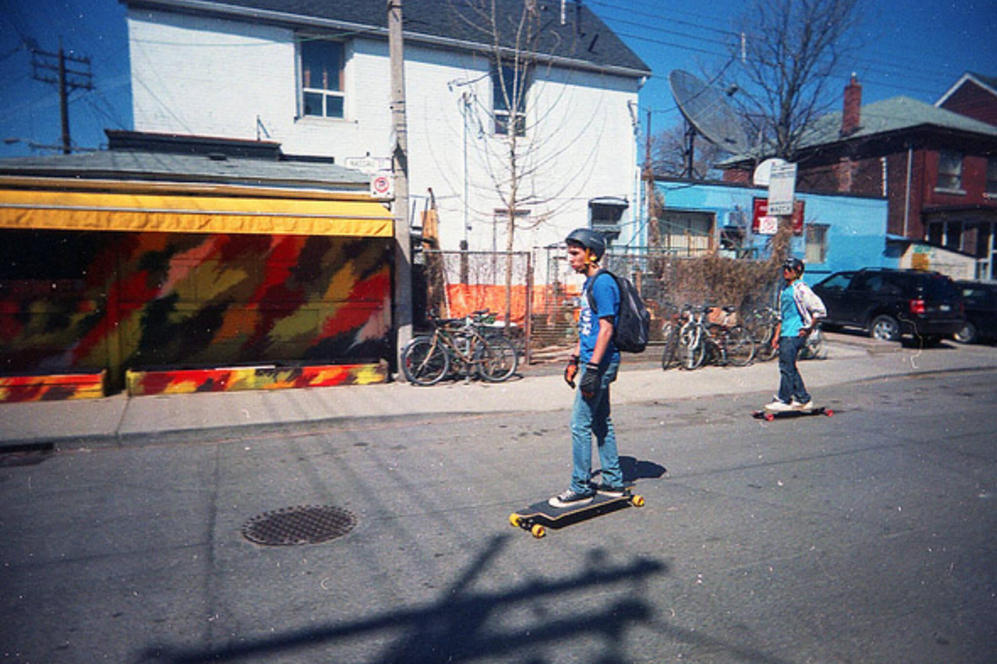 skate, summer, street